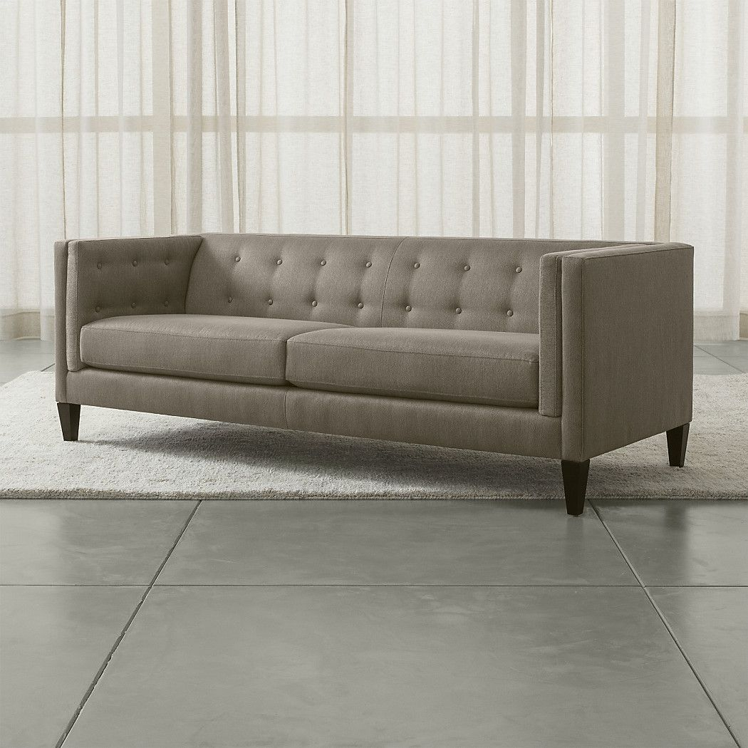 Aidan Tufted Sofa | Home | Pinterest | Sofa, Living Room And Room Within Aidan Ii Sofa Chairs (Image 13 of 20)