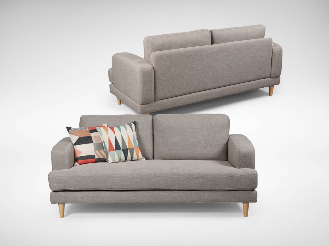 Aiden 3–Seater Sofa | Comfort Design – The Chair & Table People With Aidan Ii Sofa Chairs (Image 15 of 20)