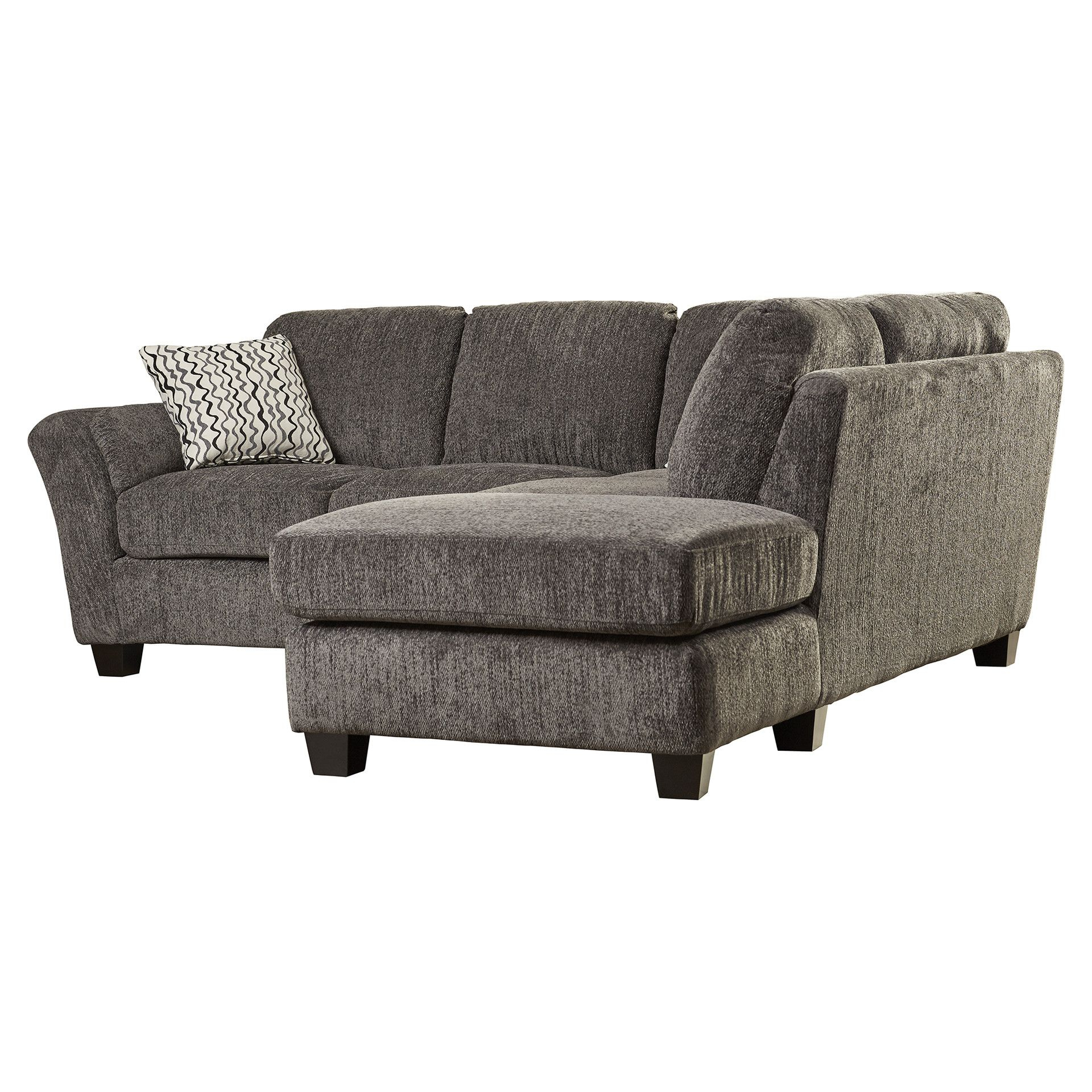 Alcott Hill® Patterson Right Hand Facing Sectional | Couch With Patterson Ii Arm Sofa Chairs (Image 1 of 20)