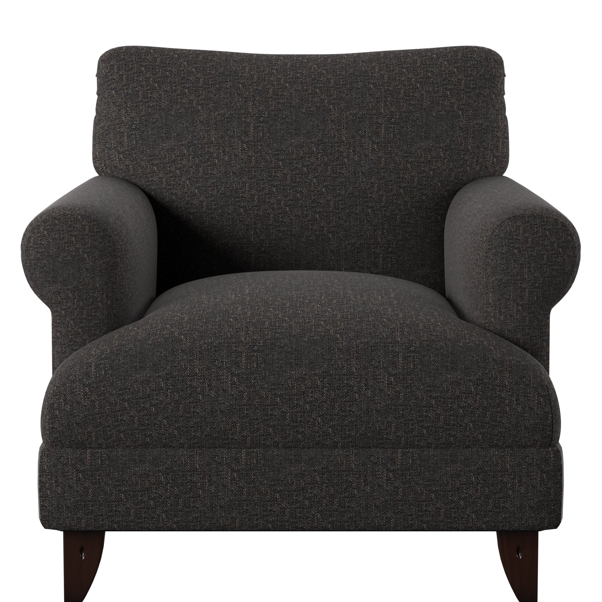 Allie Armchair & Reviews | Joss & Main With Allie Dark Grey Sofa Chairs (Image 2 of 20)