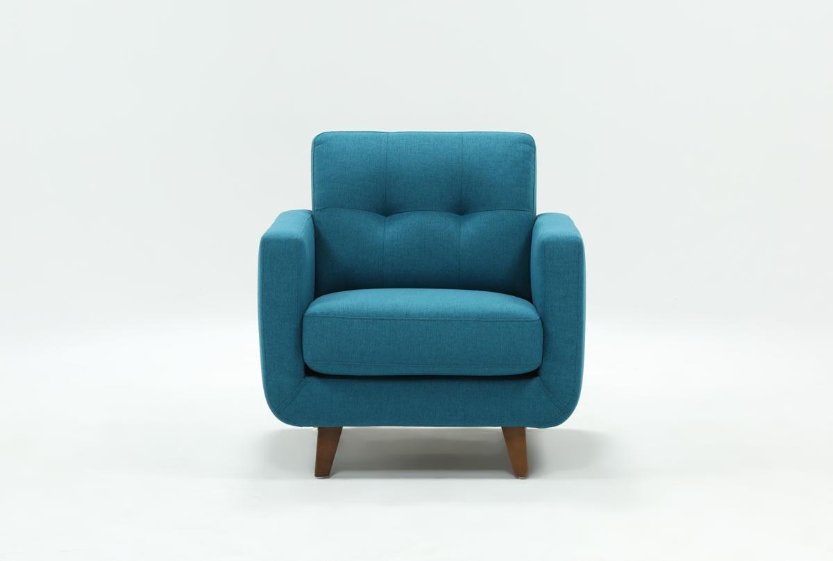Allie Jade Chair | Living Spaces Regarding Allie Jade Sofa Chairs (Image 1 of 20)
