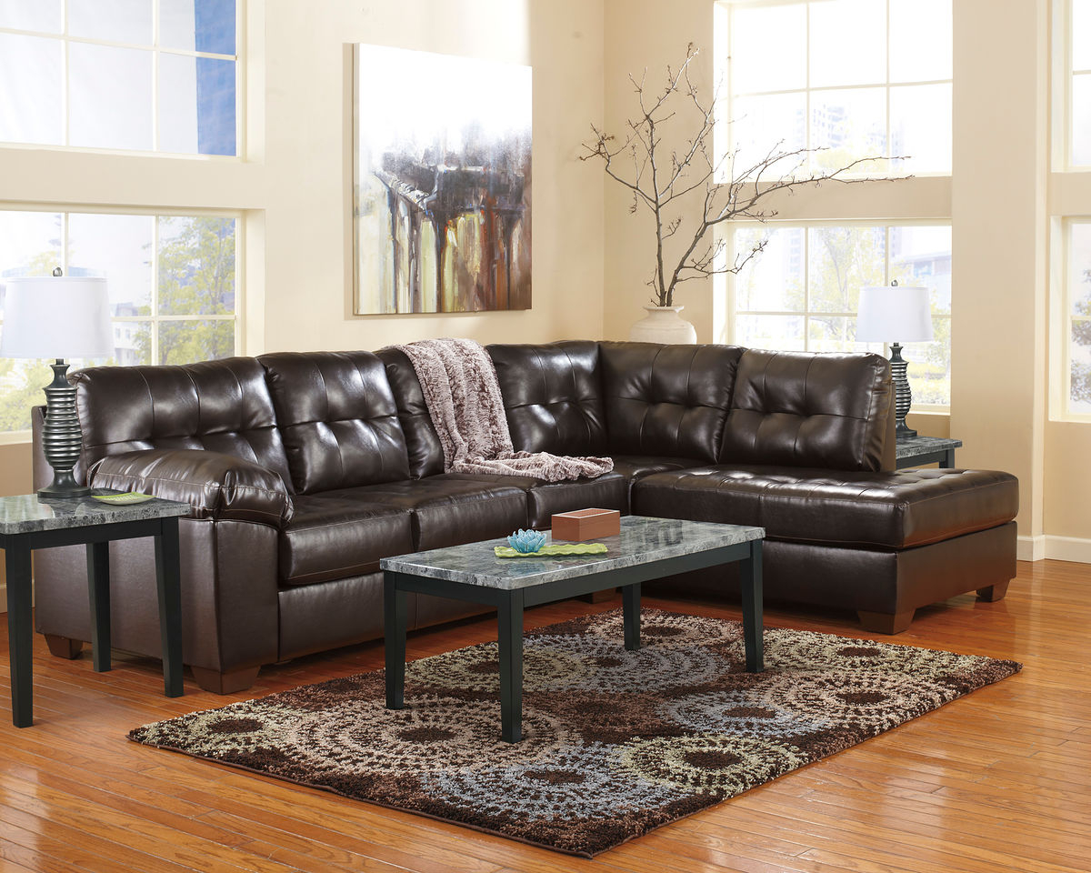 Alliston Durablend® – Chocolate – Laf Sofa, Raf Corner Chaise Intended For Rory Sofa Chairs (Image 3 of 20)