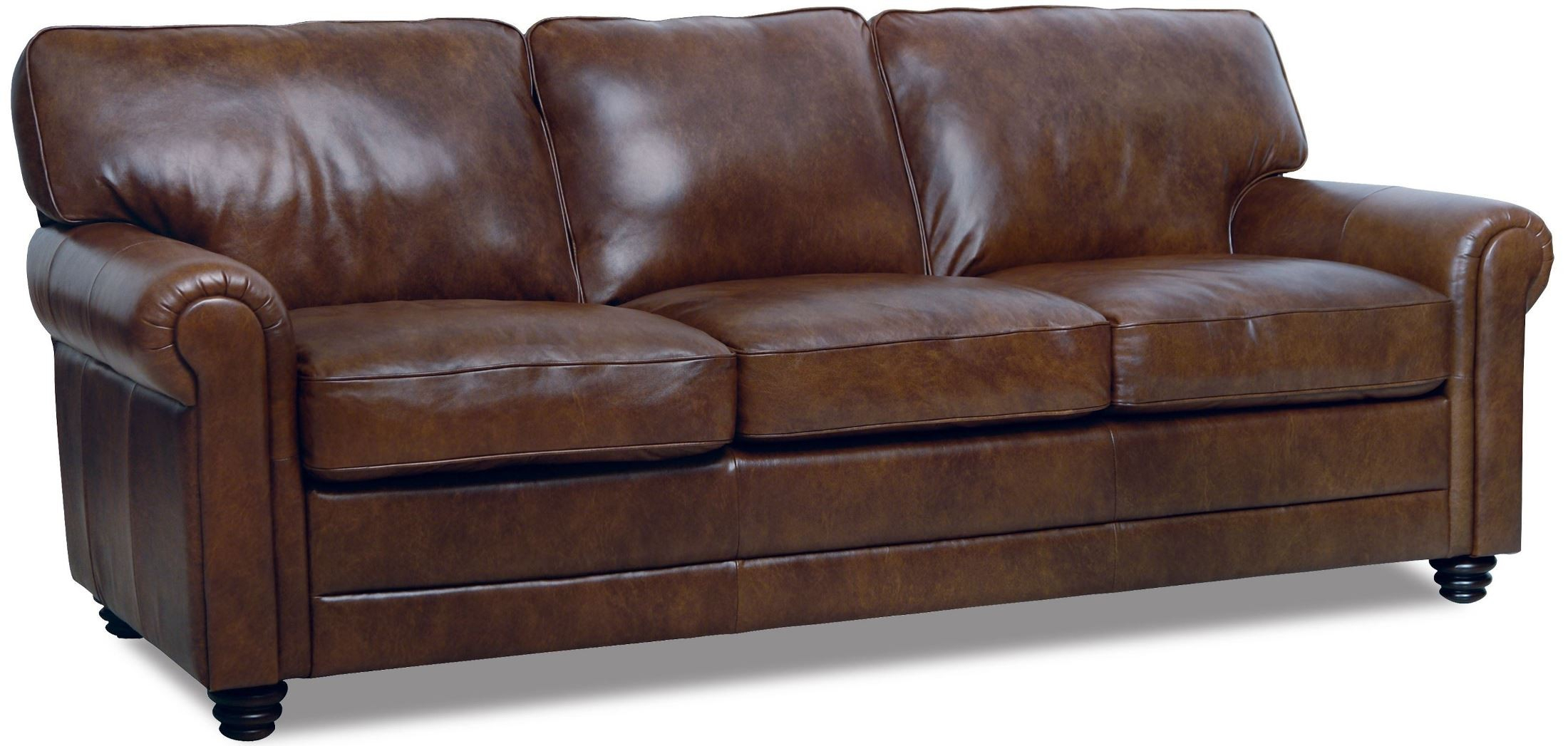 Andrew Italian Leather Sofa From Luke Leather | Coleman Furniture Inside Andrew Leather Sofa Chairs (Image 5 of 20)