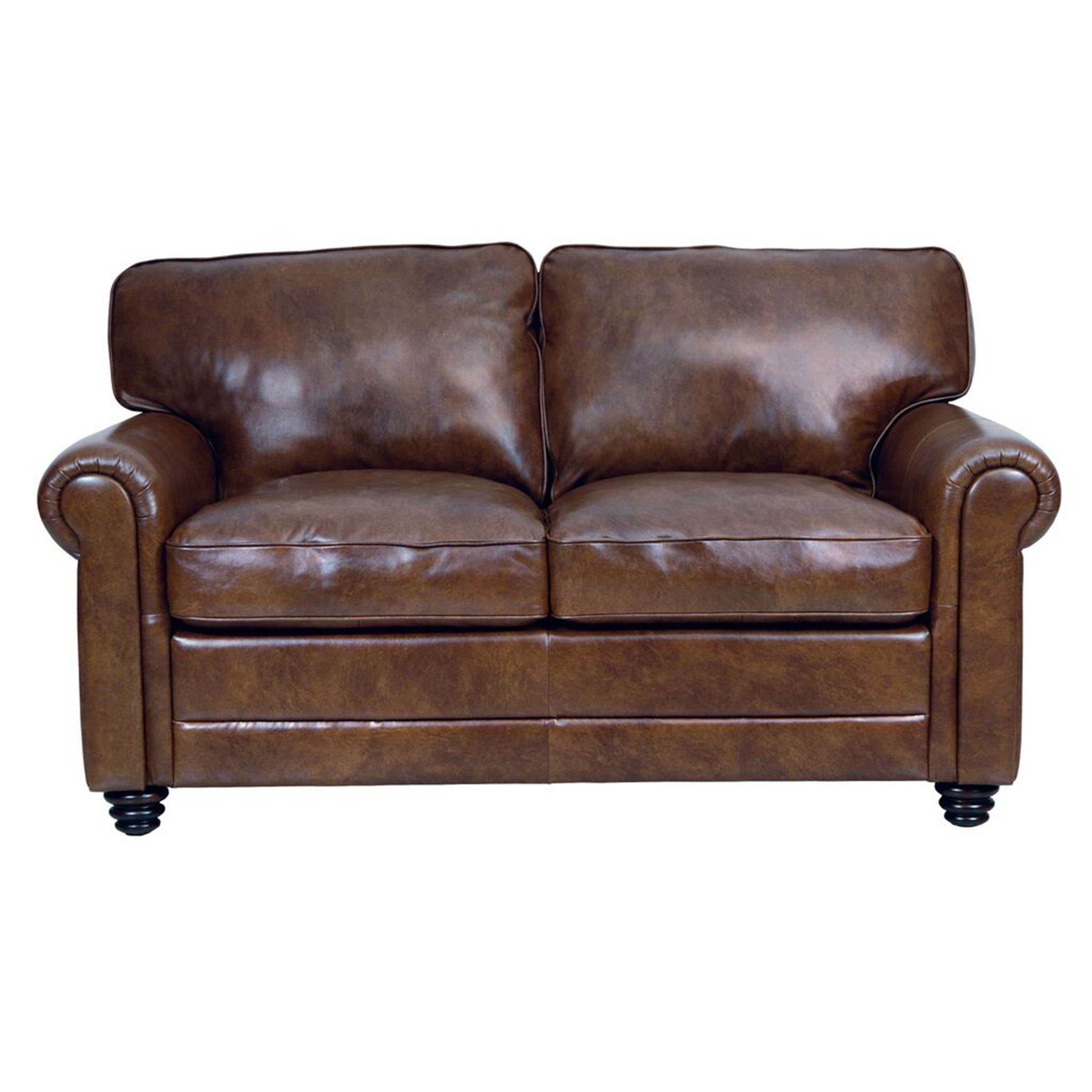 Andrew Leather Loveseat In 2018 | Living Space (Image 6 of 20)