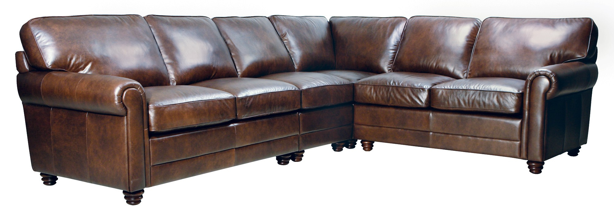 Andrew Sectional – Luke Leather Furniture Throughout Andrew Leather Sofa Chairs (Image 10 of 20)