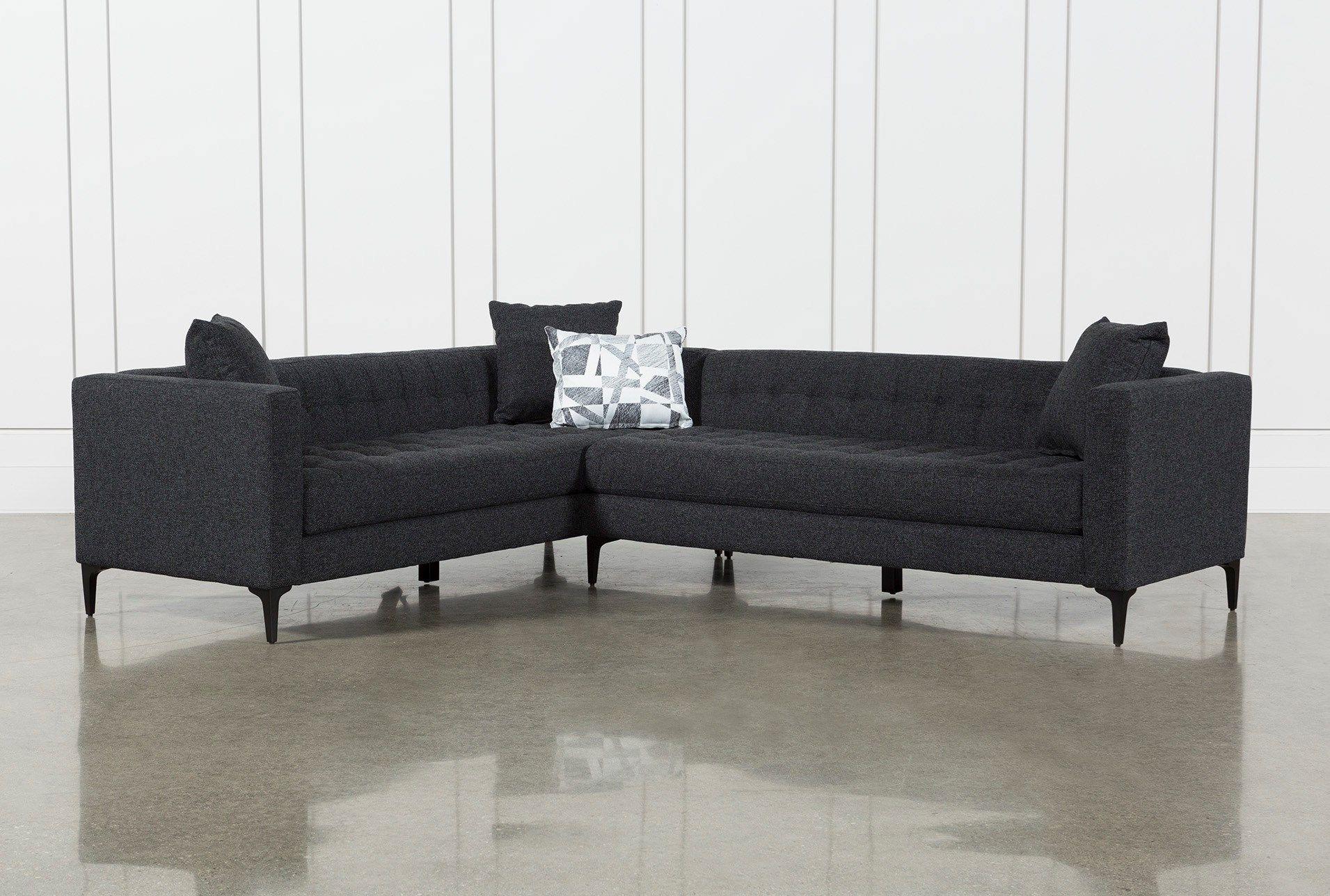 Anson 2 Piece Sectional In 2018 | Decorating | Pinterest | House Intended For Matteo Arm Sofa Chairs By Nate Berkus And Jeremiah Brent (Image 1 of 20)