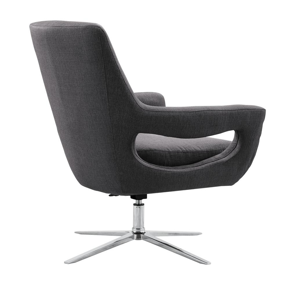 Featured Image of Loft Black Swivel Accent Chairs