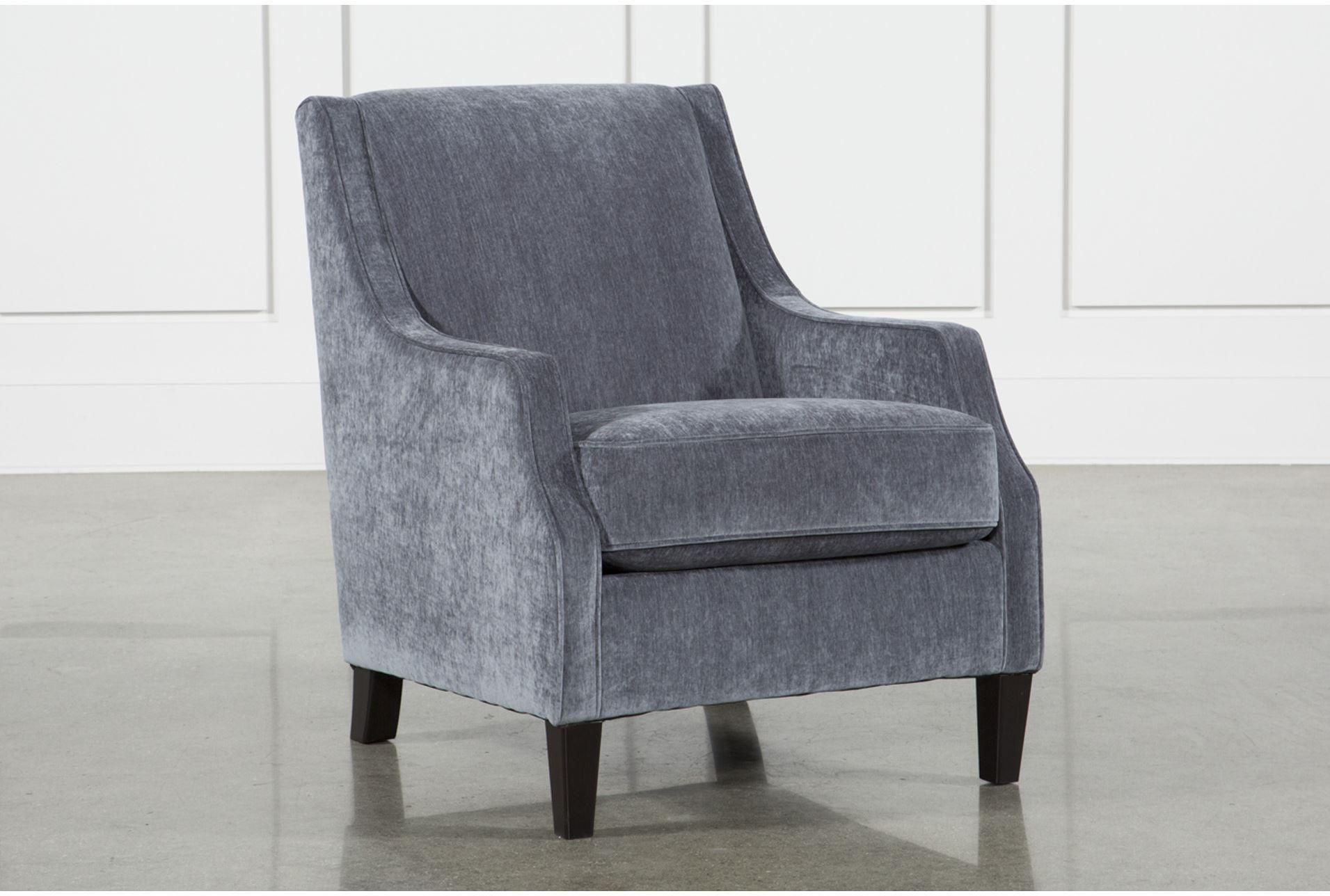 Ashley Brumbeck Accent Chair, Blue | Products For Sadie Ii Swivel Accent Chairs (View 4 of 20)