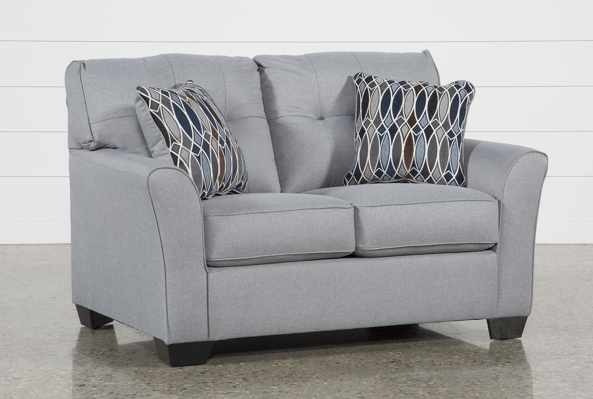 Ashley Chilkoot Smoke Loveseat, Grey, Sofas   Pinterest   Products For Mcdade Ash Sofa Chairs (Image 7 of 20)