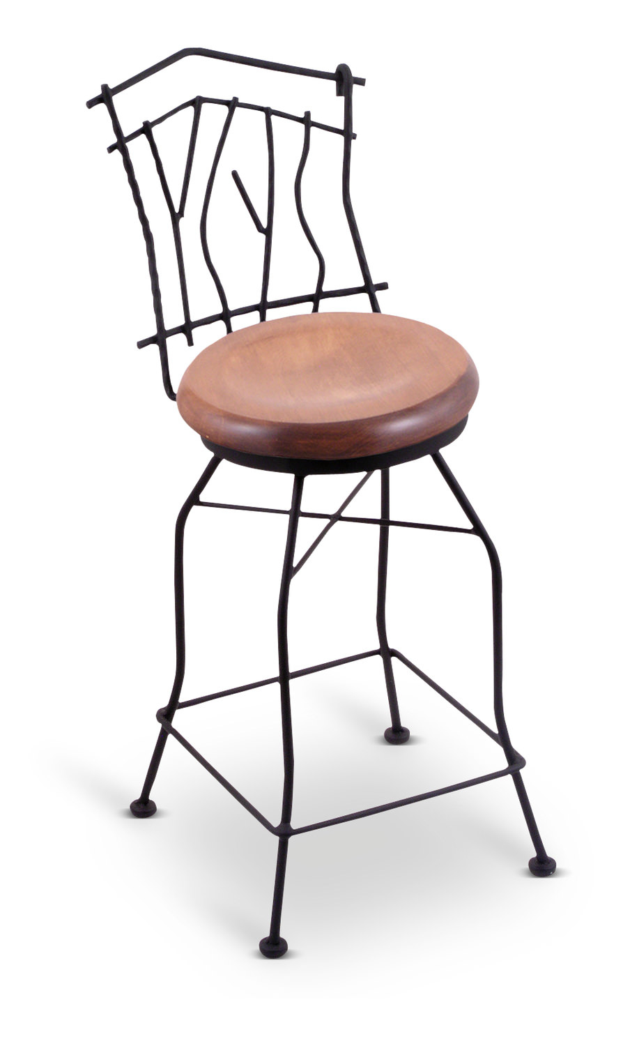 Aspen Swivel Bar Stool | Hom Furniture For Aspen Swivel Chairs (Image 4 of 20)