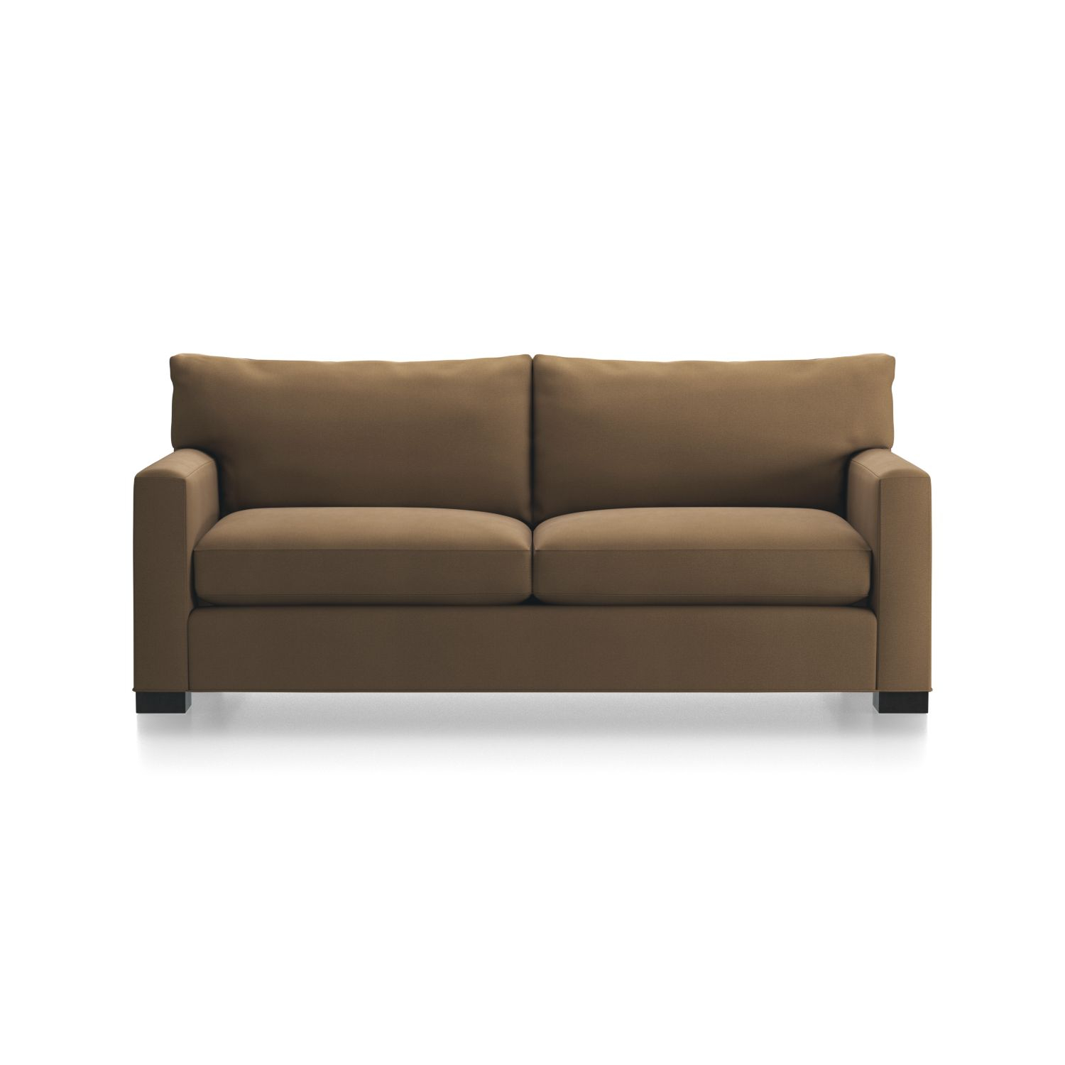 Axis Ii Leather Swivel Chair + Reviews | Crate And Barrel Pertaining To Espresso Leather Swivel Chairs (Image 3 of 20)
