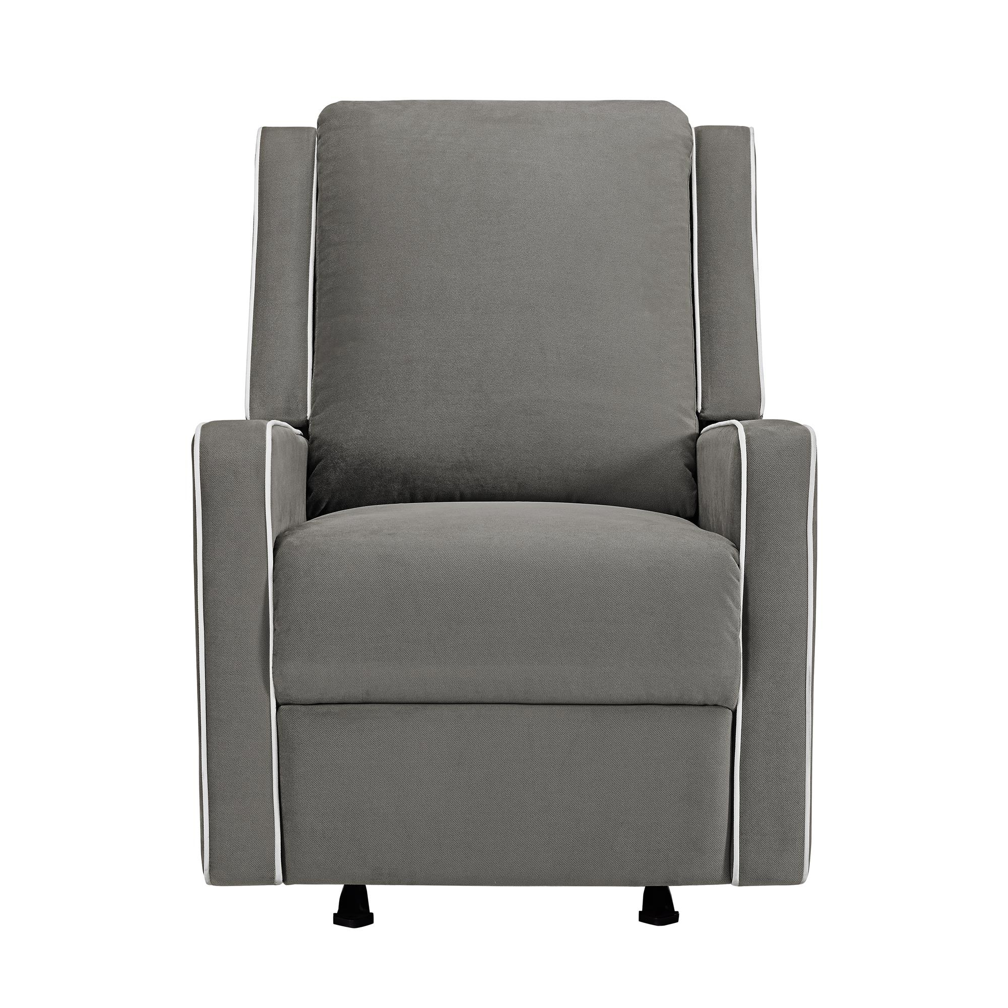 Baby Relax Robyn Rocking Recliner, Graphite Grey – Walmart With Abbey Swivel Glider Recliners (View 12 of 20)