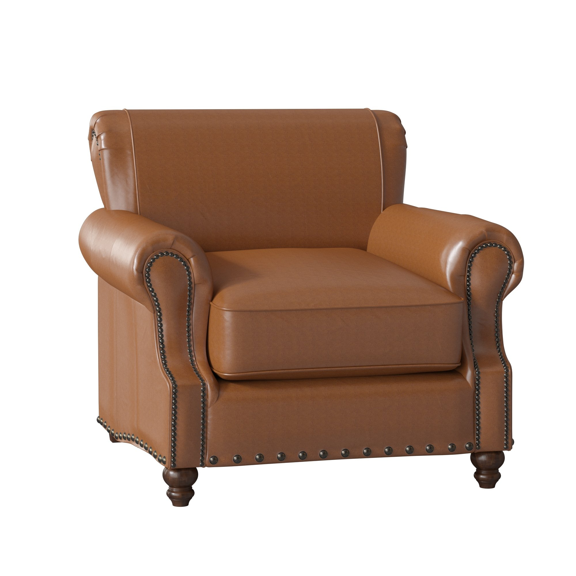 Birch Lane™ Heritage Landry Club Chair & Reviews | Birch Lane Inside Landry Sofa Chairs (Image 5 of 20)