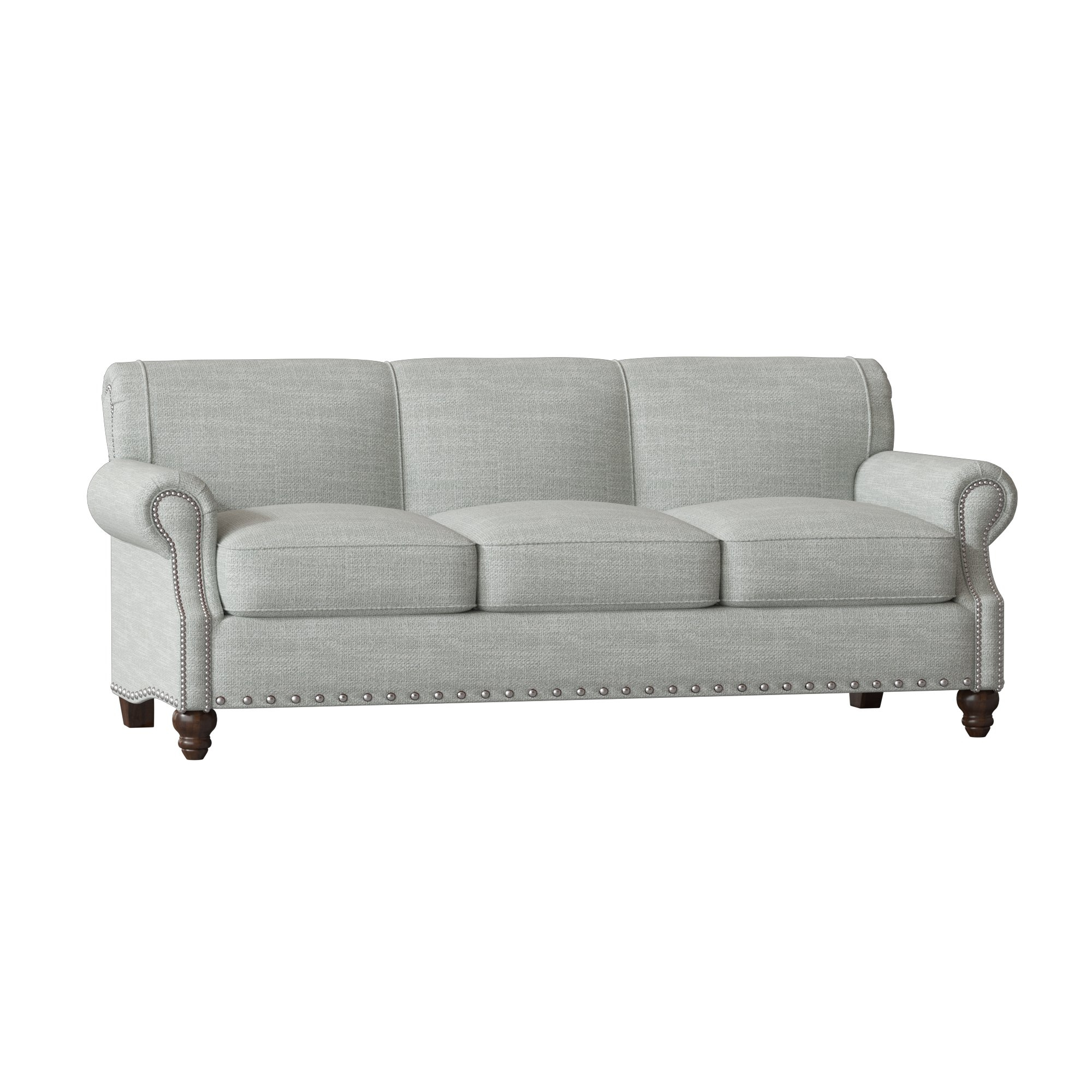 Birch Lane™ Heritage Landry Sofa & Reviews | Birch Lane Regarding Landry Sofa Chairs (Image 7 of 20)