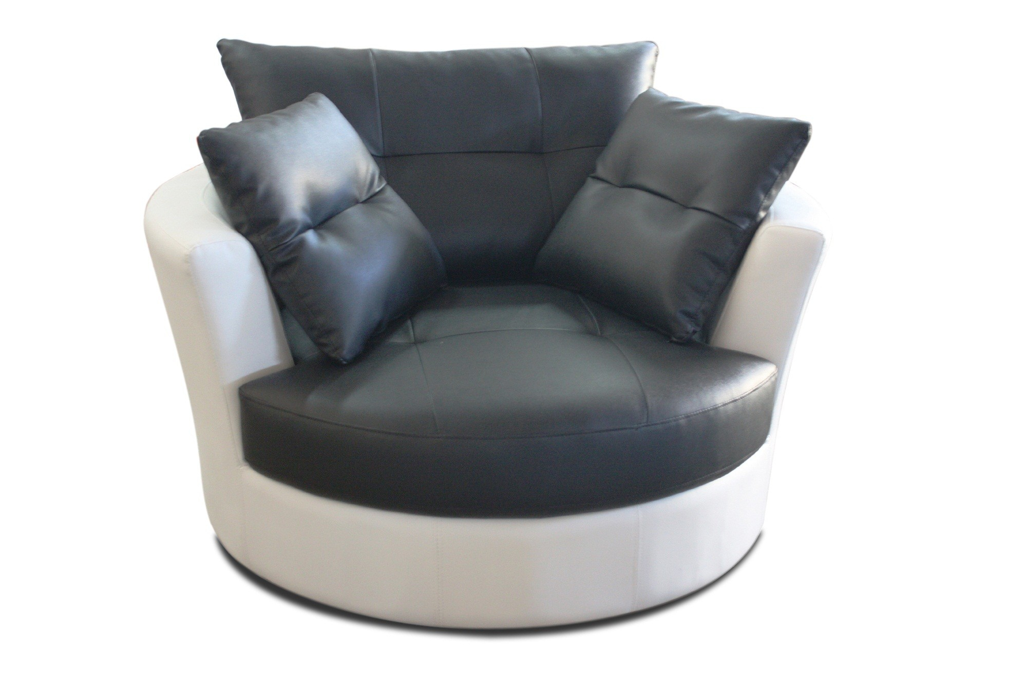 Black Couch Ottoman Reupholster Sofa Designs Clipgoo Contemporary For Leather Black Swivel Chairs (Image 1 of 20)