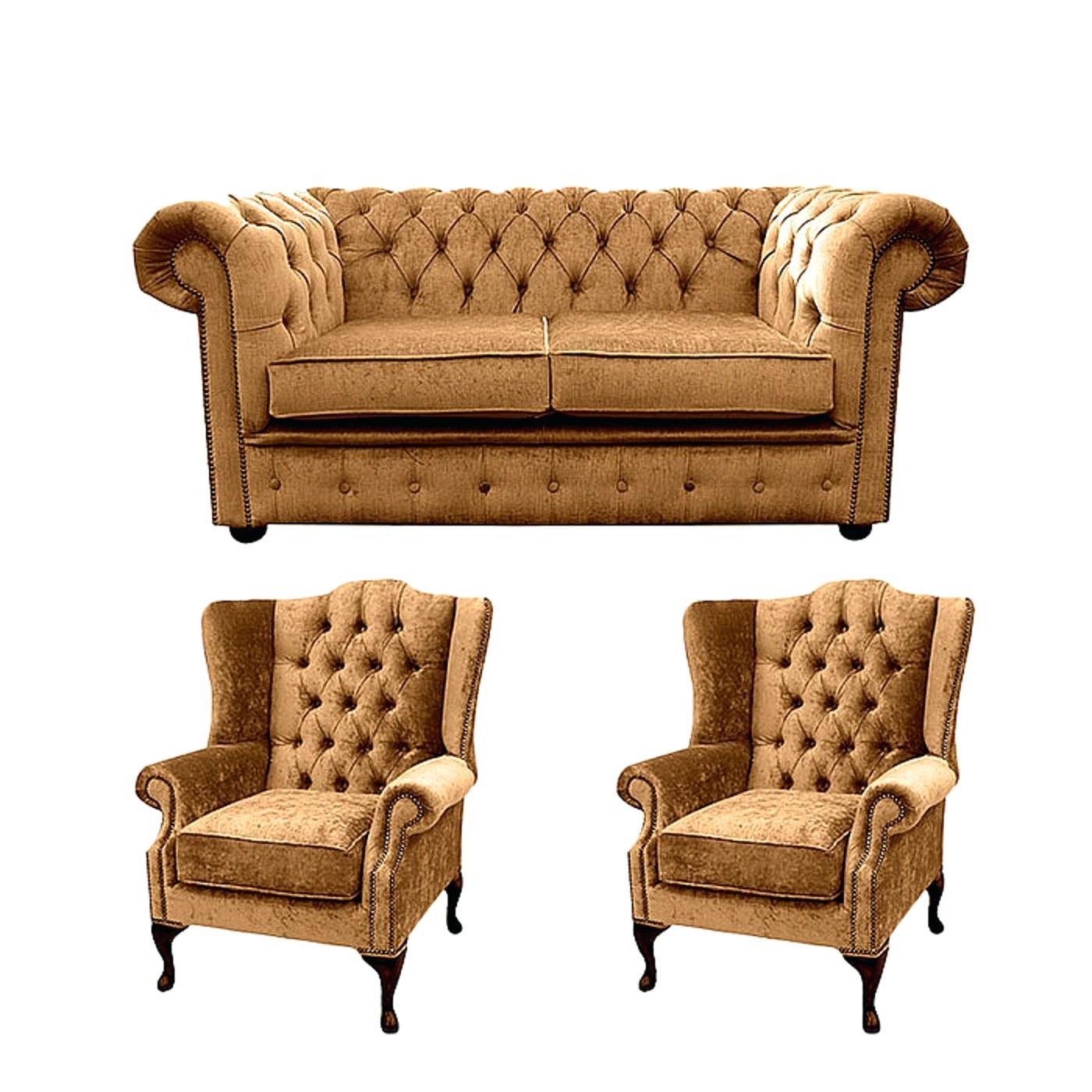 Blue Velvet Sofa Chairs (Image 1 of 20)