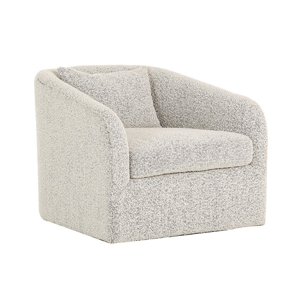 Boucle Aspen Swivel Chair In 2018 | Chairs | Pinterest | Chair Within Aspen Swivel Chairs (Image 8 of 20)