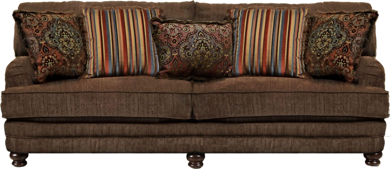 Brennan Auburn Sofa | Jackson Furniture | Traditional Sofa Sets Pertaining To Brennan Sofa Chairs (Image 4 of 20)