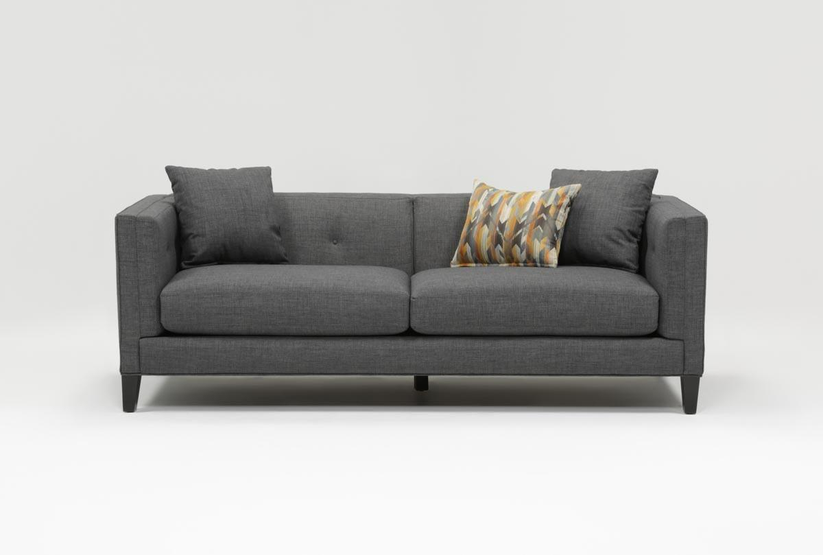 Brennan Sofa | Living Spaces For Alder Grande Ii Sofa Chairs (Photo 8 of 20)