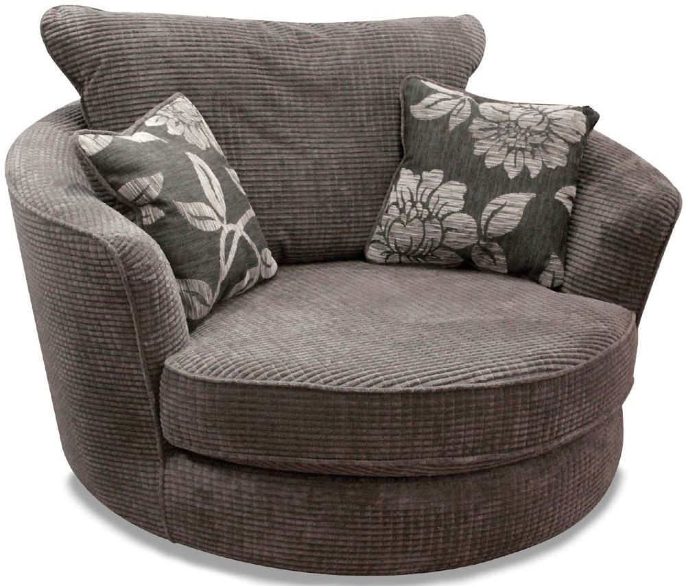 Featured Image of Charcoal Swivel Chairs