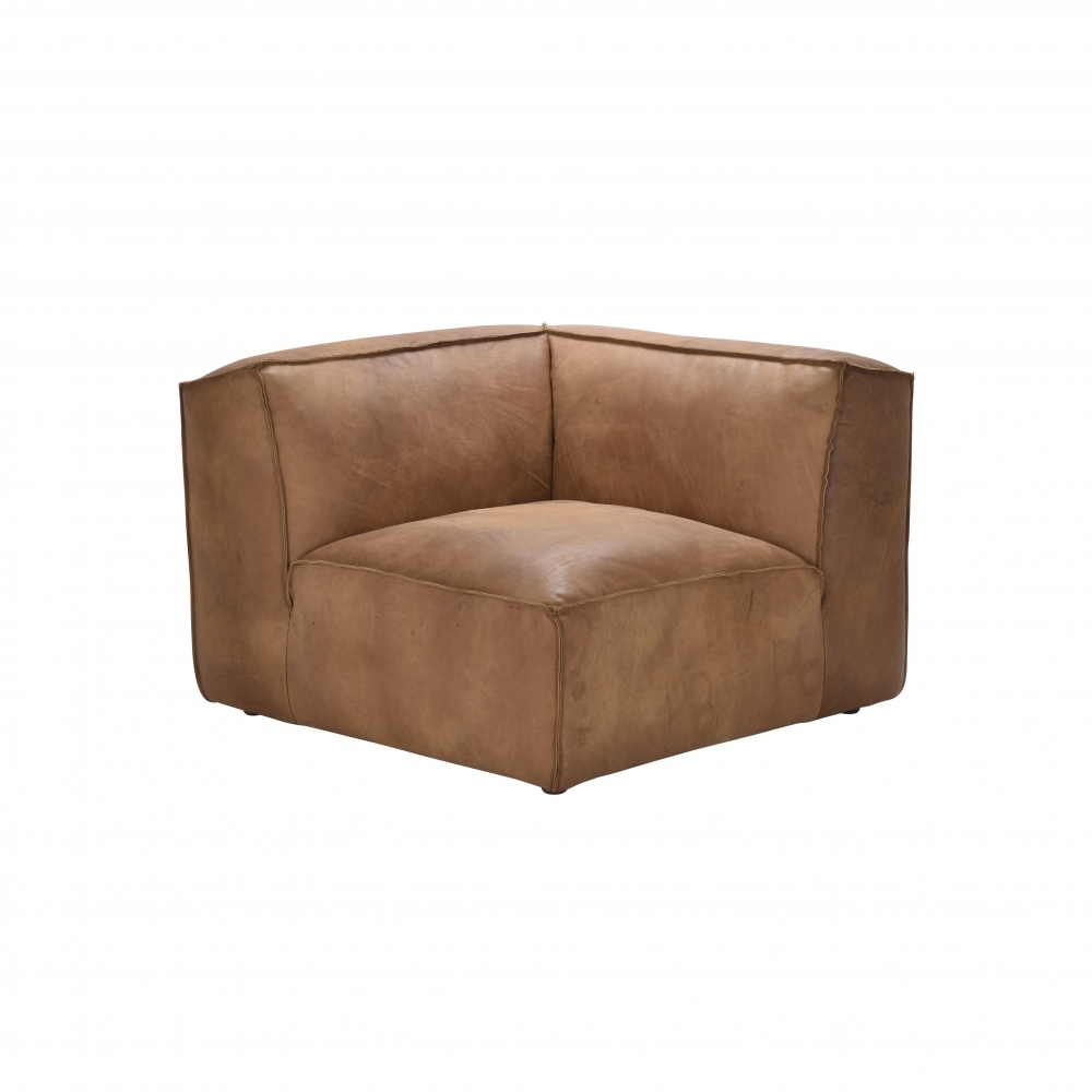Byron Leather Sectional Sofa Corner Unitandrew Martin | Uber In Andrew Leather Sofa Chairs (Image 13 of 20)