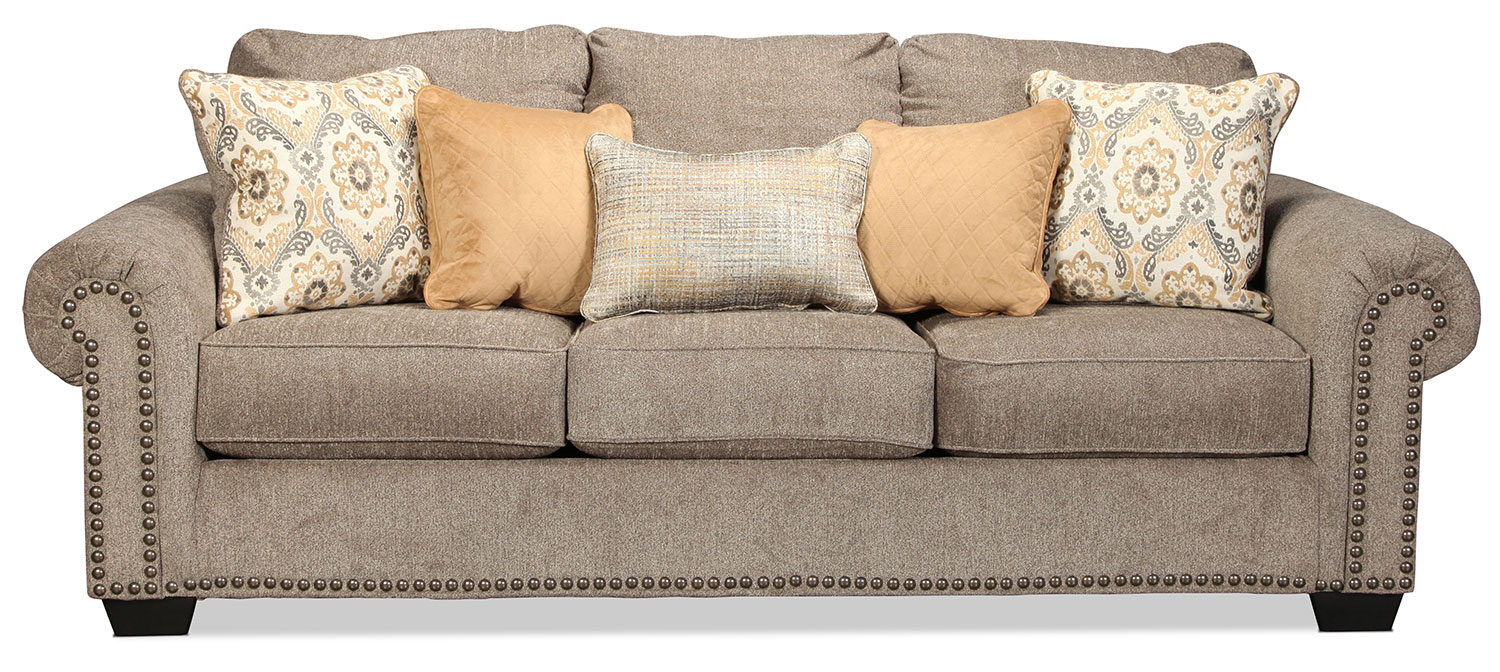 Callie Sofa – Grey | With Regard To Callie Sofa Chairs (Image 5 of 20)