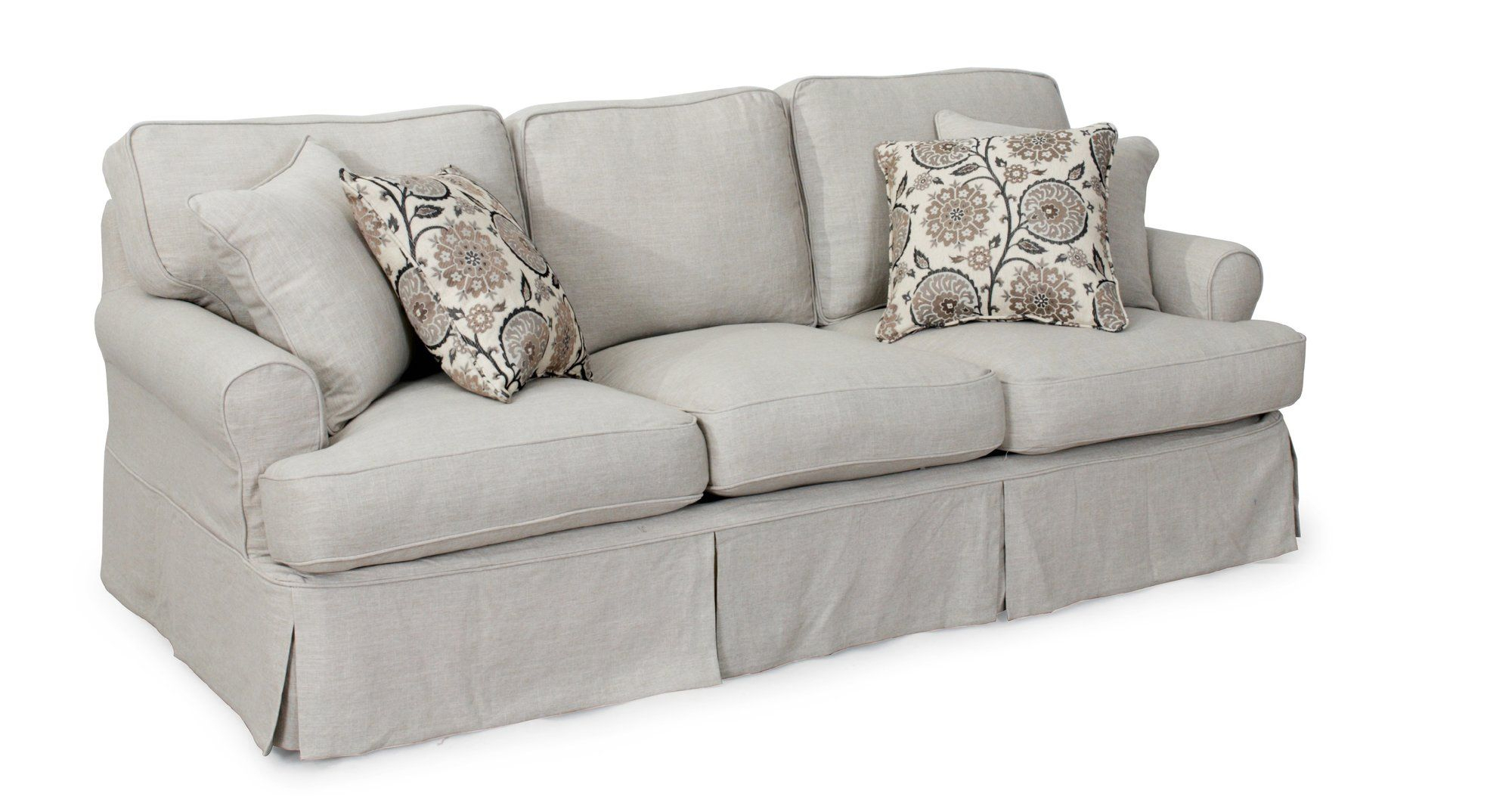 Callie Sofa T Cushion Slipcover Set | Products | Pinterest | Sofa With Callie Sofa Chairs (Image 11 of 20)