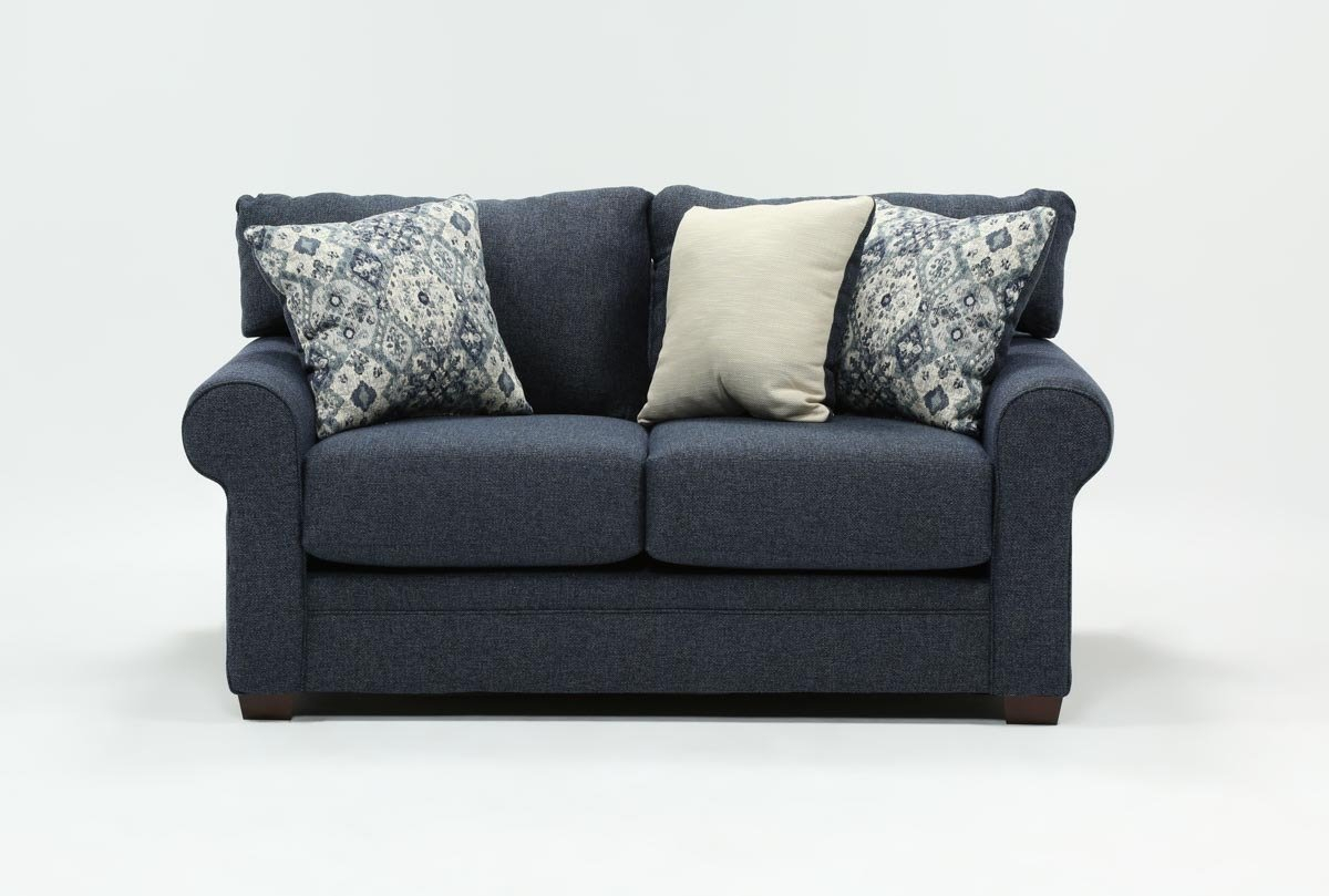 Cameron Loveseat | Living Spaces Intended For Cameron Sofa Chairs (Image 8 of 20)