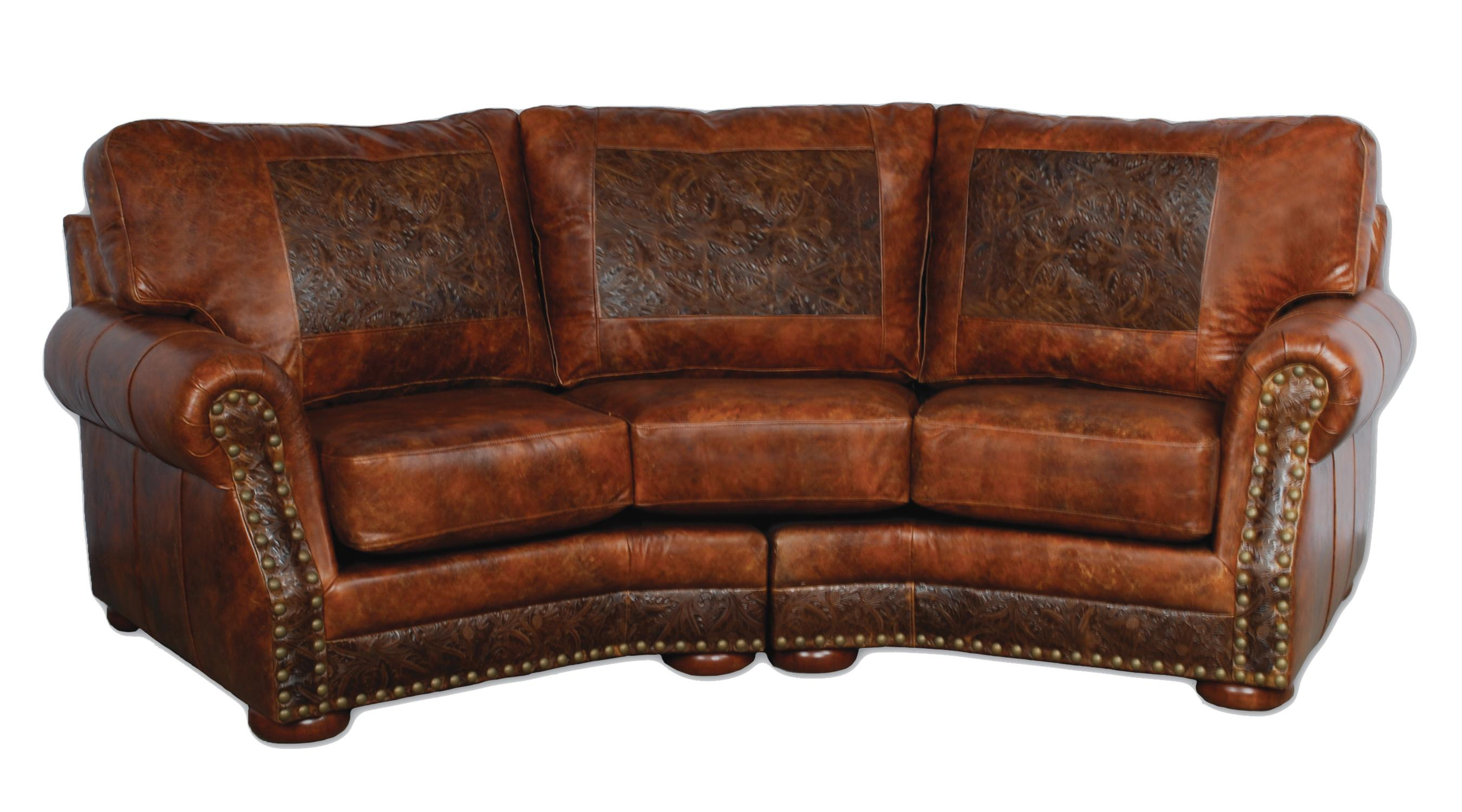 Cameron Ranch Conversation Sofa Antiquity Ember Leather Bean Bag Chair Throughout Cameron Sofa Chairs (Photo 13 of 20)