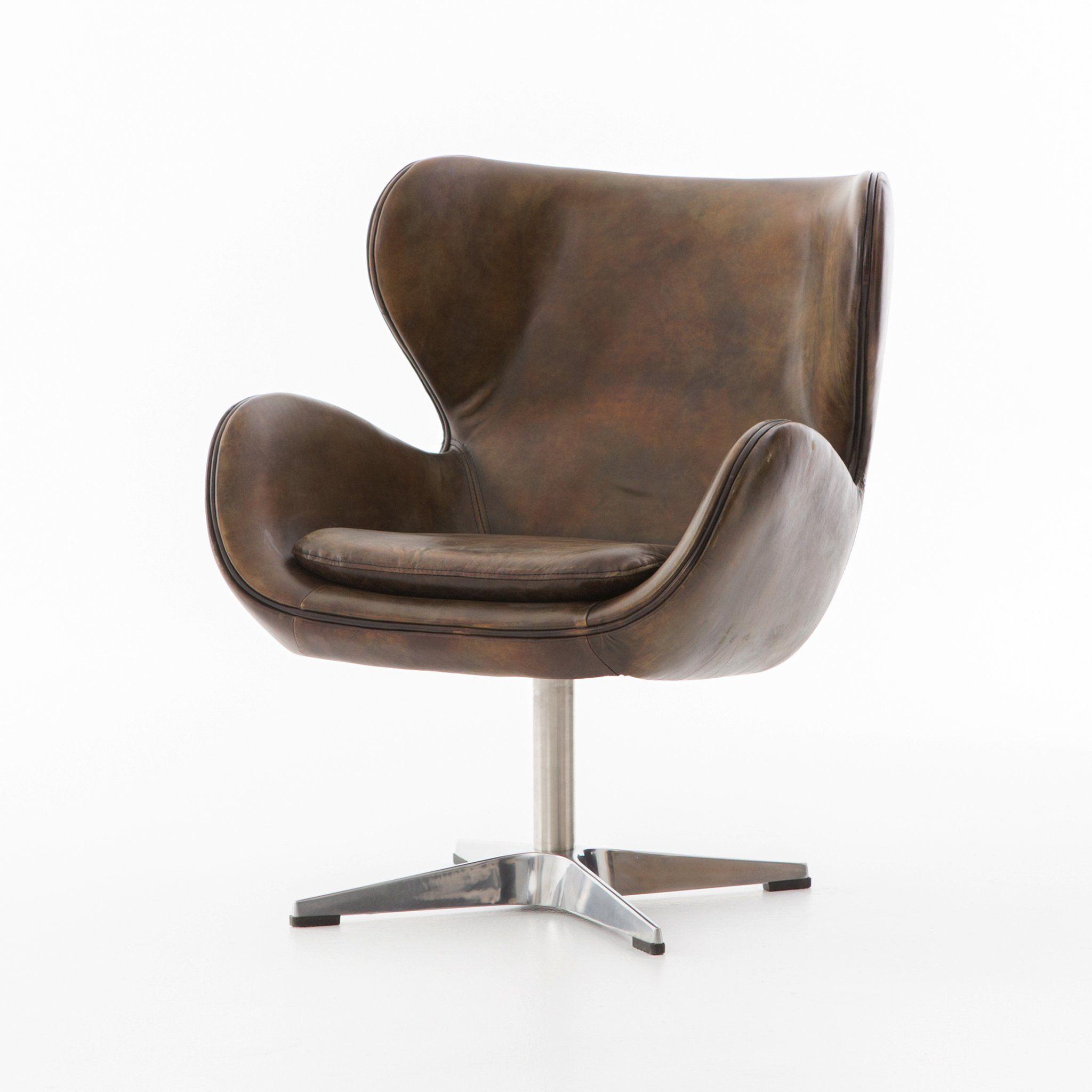 Carissa Swivel Chair – Old English Espresso | Swivel Chair, Espresso In Espresso Leather Swivel Chairs (Photo 1 of 20)