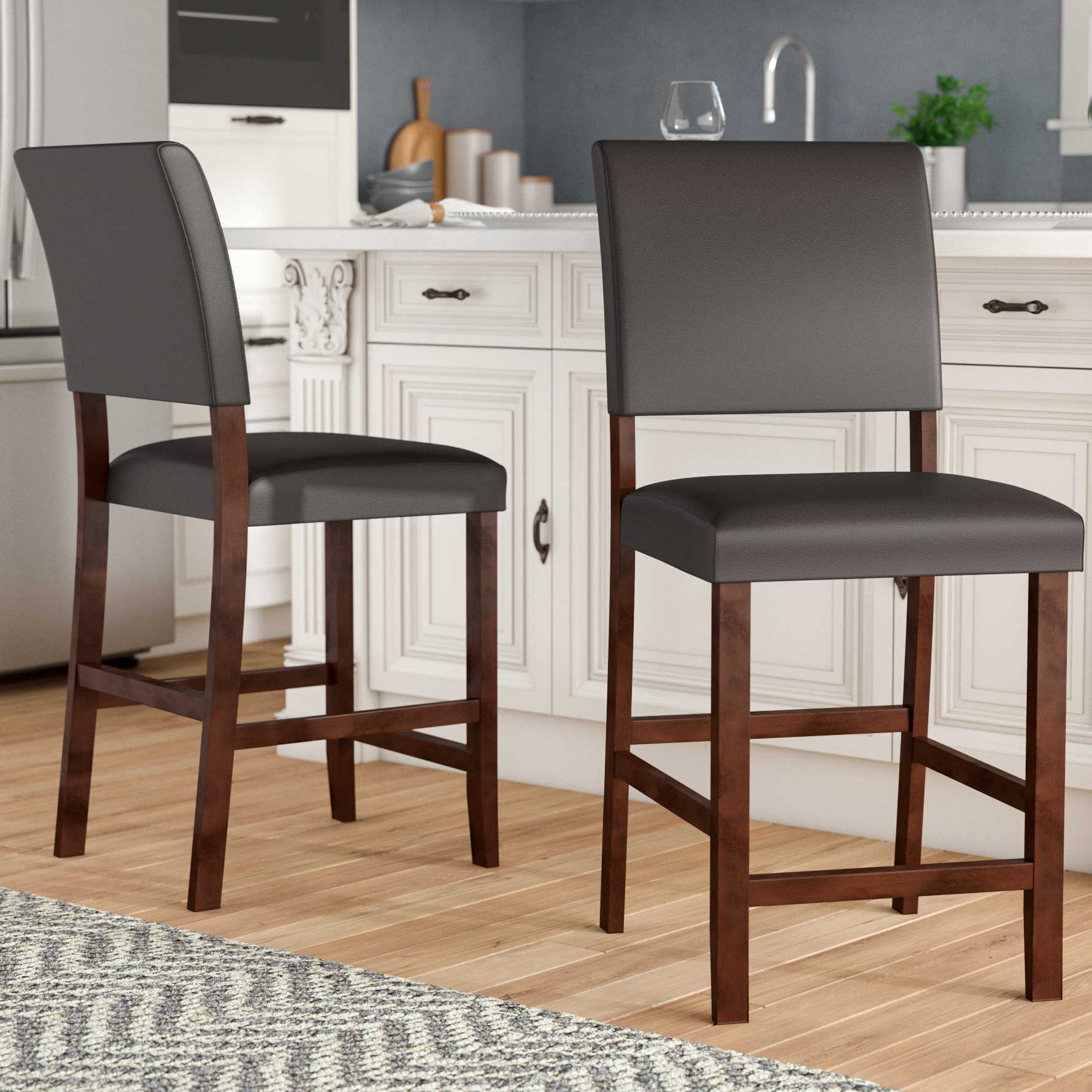 "Charlton Home Apple Valley 24"" Bar Stool & Reviews 