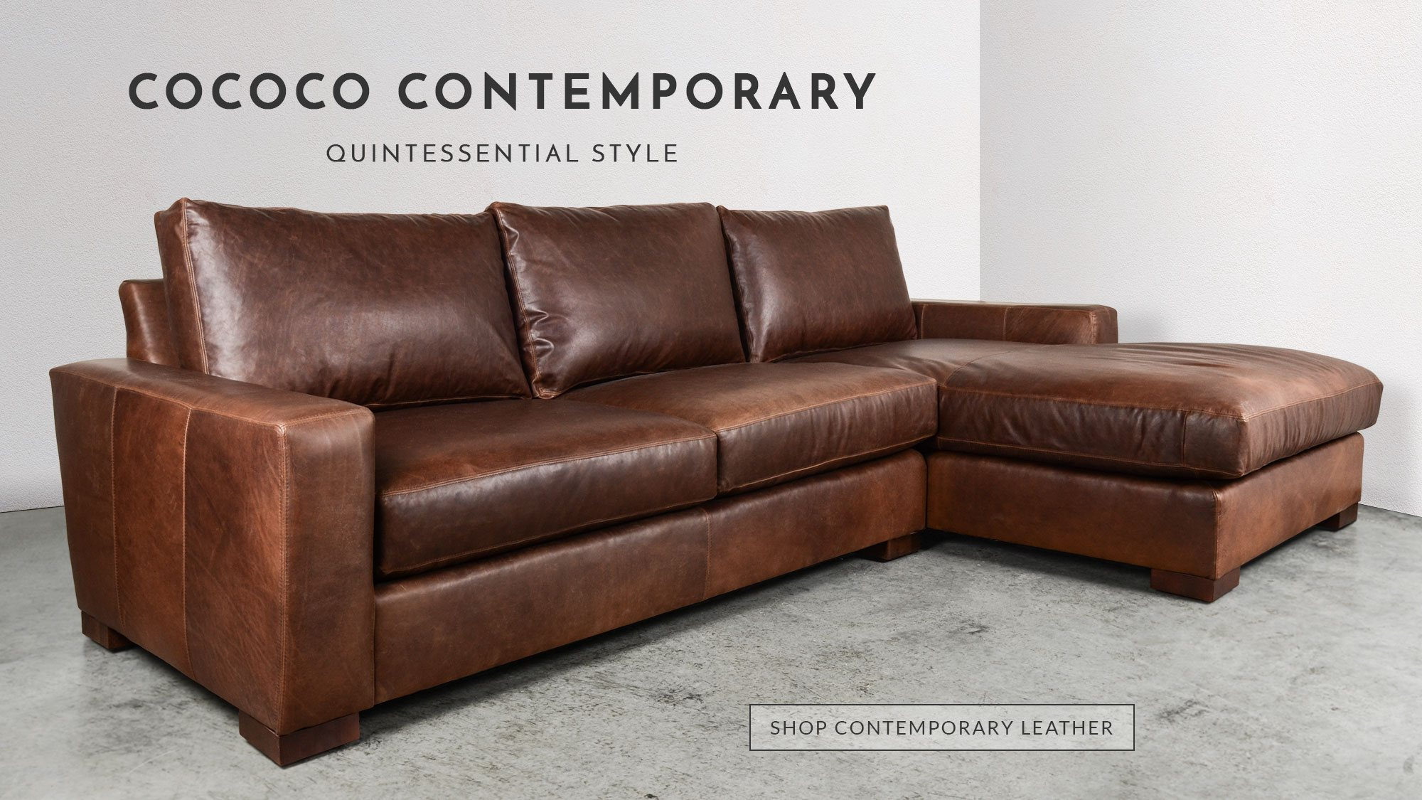 Chesterfield Sofas, Modern Furniture Made In Usa | Cococohome Pertaining To Gina Blue Leather Sofa Chairs (Image 7 of 20)