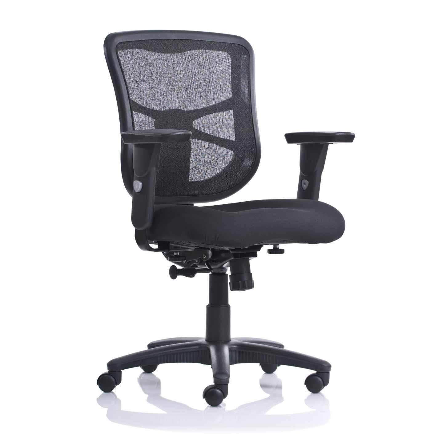 Chicago Black Mesh Home Office Chairs | Office Chair | Pinterest With Chadwick Gunmetal Swivel Chairs (Image 4 of 20)