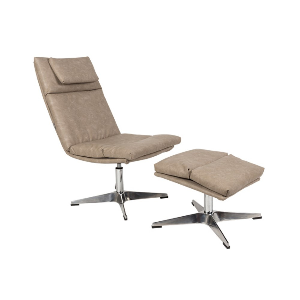 Chill Set Vintage Lounge Chair – Modern Furniture Store In Dublin Regarding Chill Swivel Chairs With Metal Base (Image 3 of 20)
