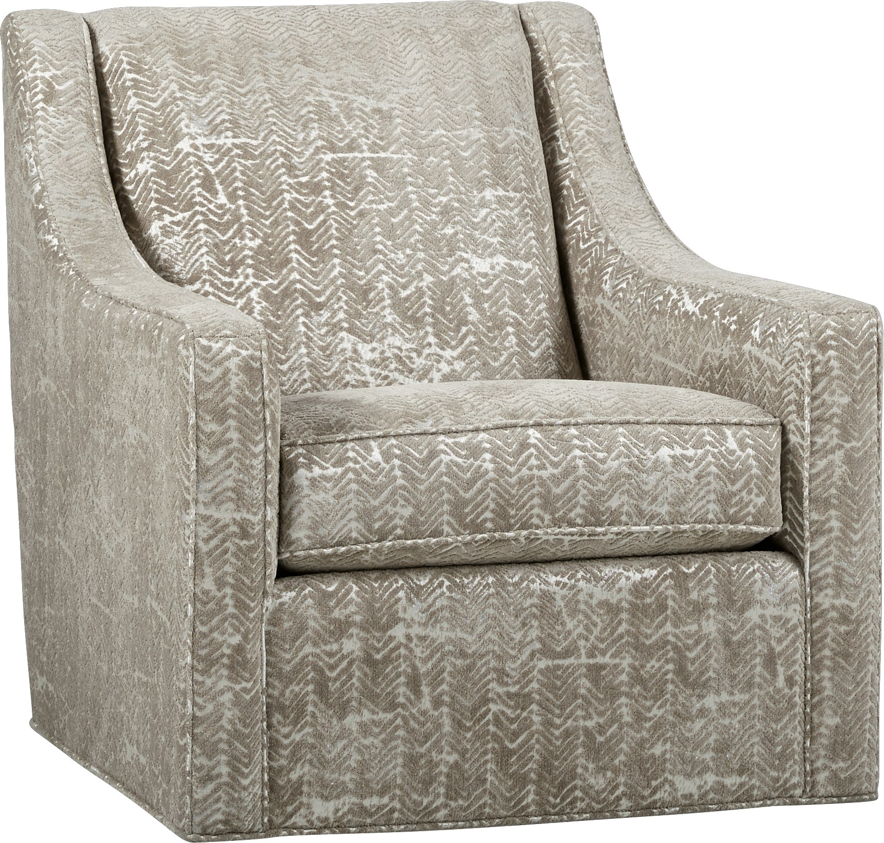 Cindy Crawford Home Pacific Harbor Beige Accent Chair – Accent Regarding Harbor Grey Swivel Accent Chairs (Image 6 of 20)