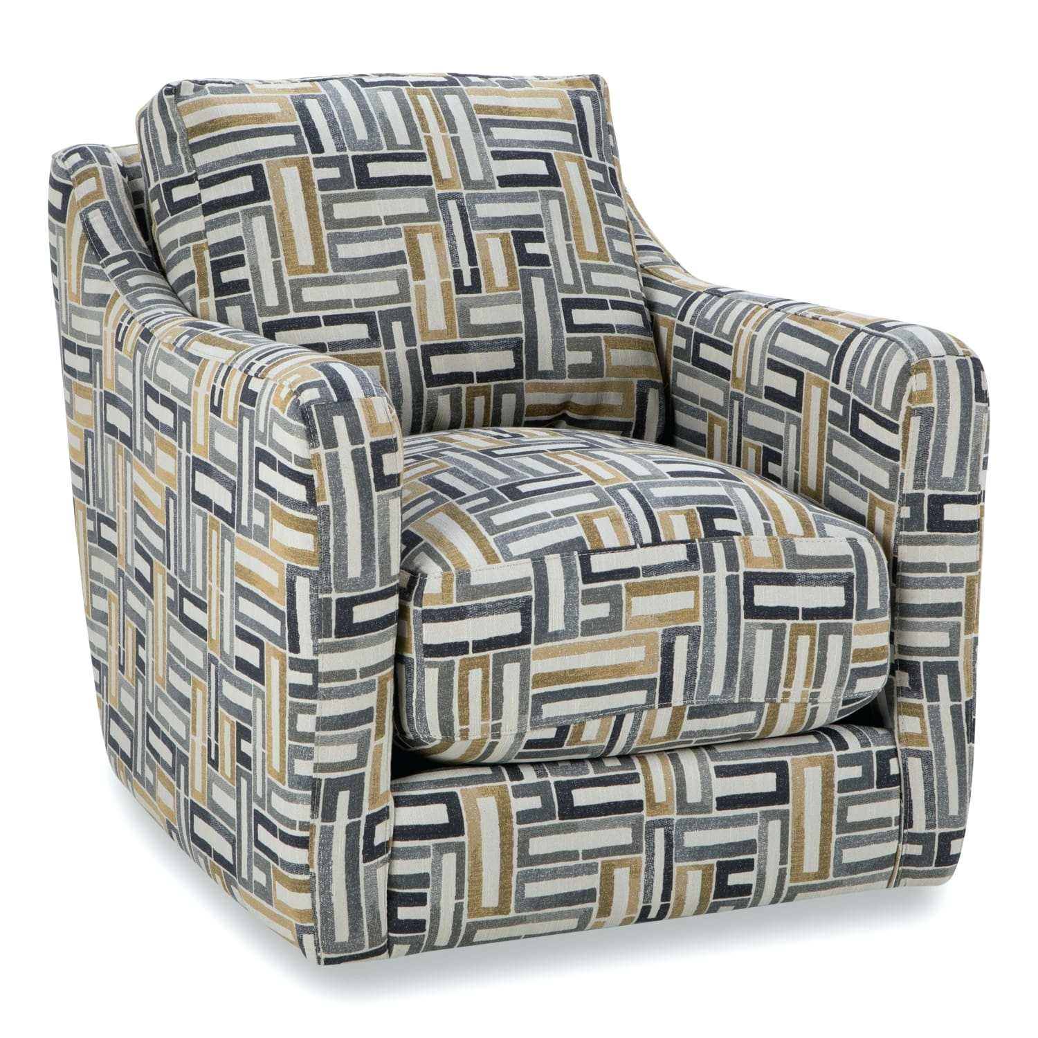Circuit Swivel Accent Chair Living Spaces Swivel Accent Chair Swivel Inside Circuit Swivel Accent Chairs (Image 5 of 20)