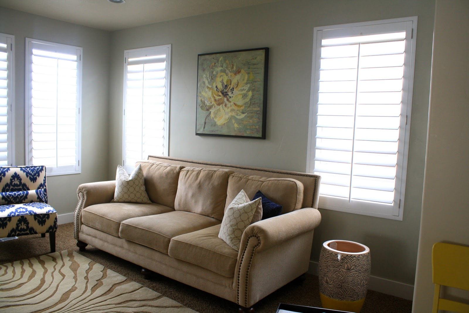 Colorful Living Room Before & After – House Of Jade Interiors Blog Intended For Allie Jade Sofa Chairs (Image 10 of 20)