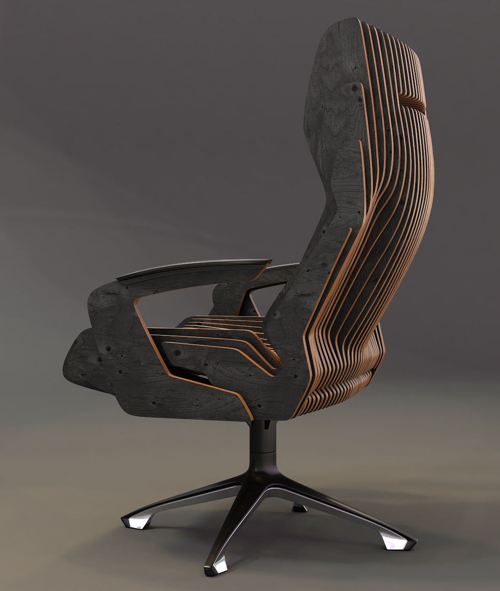 Concept Of A Parametric Chair | General Tips & Ideas | Pinterest Pertaining To Revolve Swivel Accent Chairs (Photo 16 of 20)