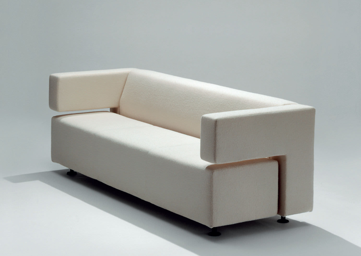 Contemporary Sofa / Leather / Fabric / 2 Person – Milojouko Throughout Milo Sofa Chairs (View 17 of 20)