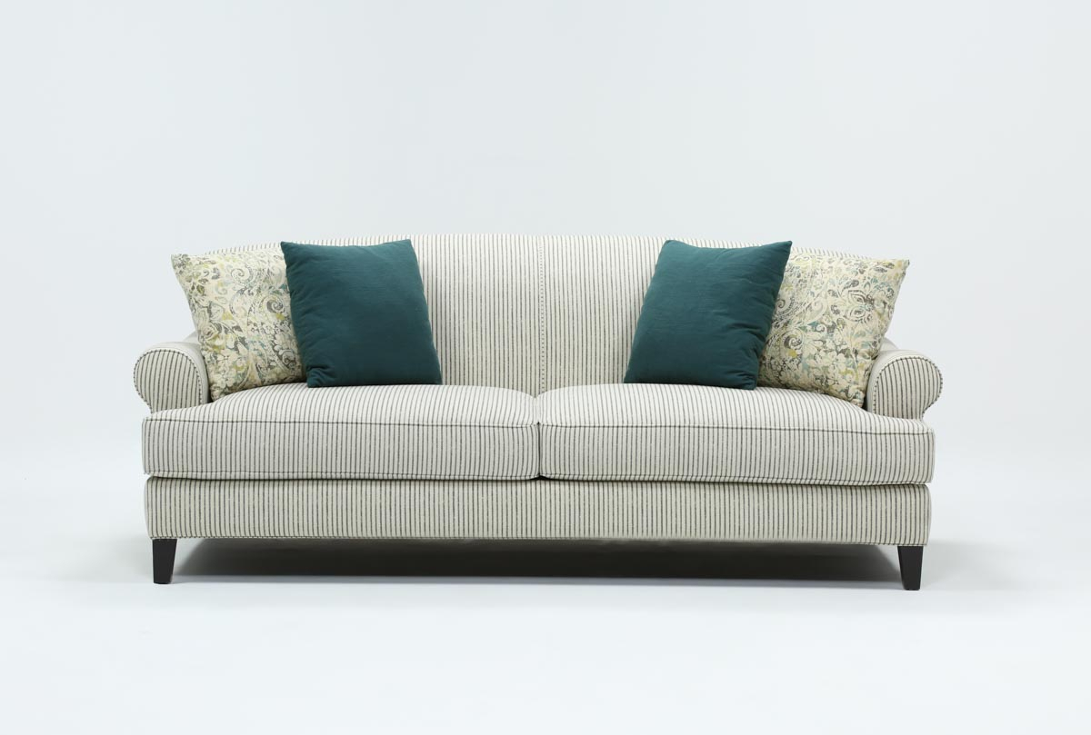 Crosby Sofa | Living Spaces With Ames Arm Sofa Chairs By Nate Berkus And Jeremiah Brent (Image 7 of 20)