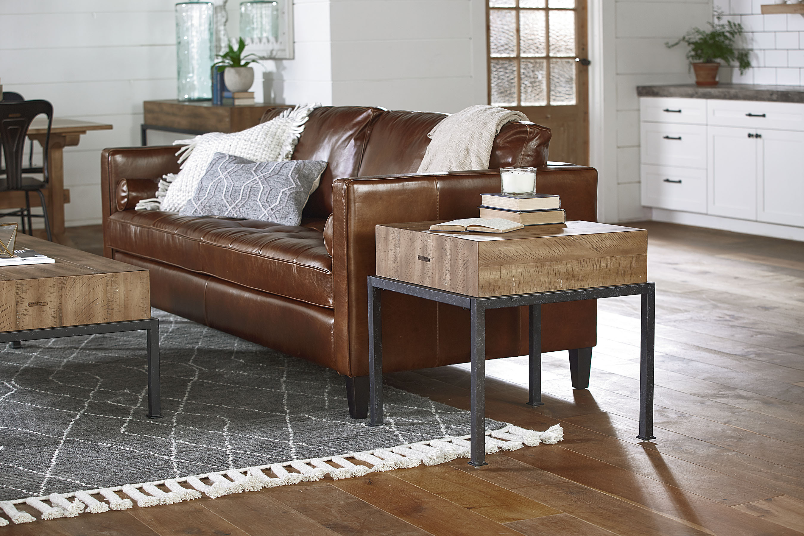 Dapper Sofa – Magnolia Home Inside Magnolia Home Dapper Fog Sofa Chairs (View 16 of 20)