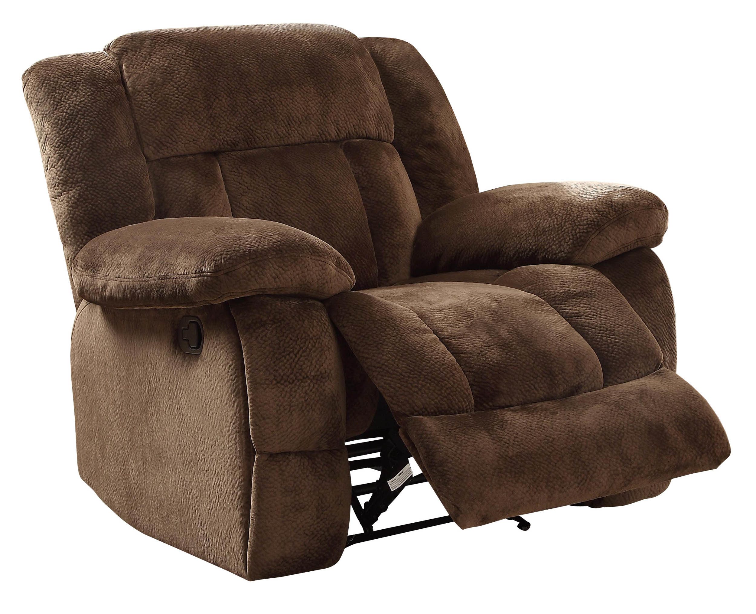 Darby Home Co Dale Manual Glider Recliner & Reviews | Wayfair Throughout Dale Iii Polyurethane Swivel Glider Recliners (Photo 2 of 20)