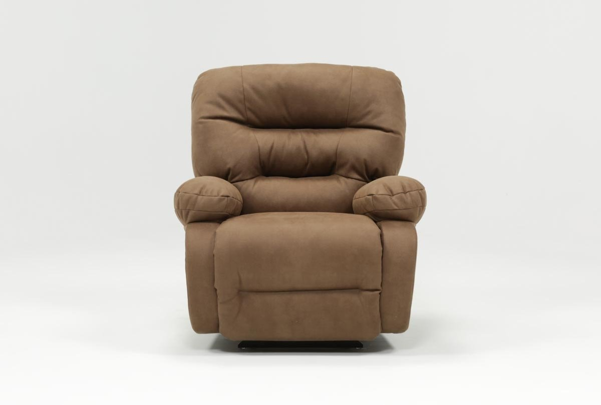 Decker Ii Fabric Power Rocker Recliner | Living Spaces With Regard To Decker Ii Fabric Swivel Rocker Recliners (Image 4 of 20)