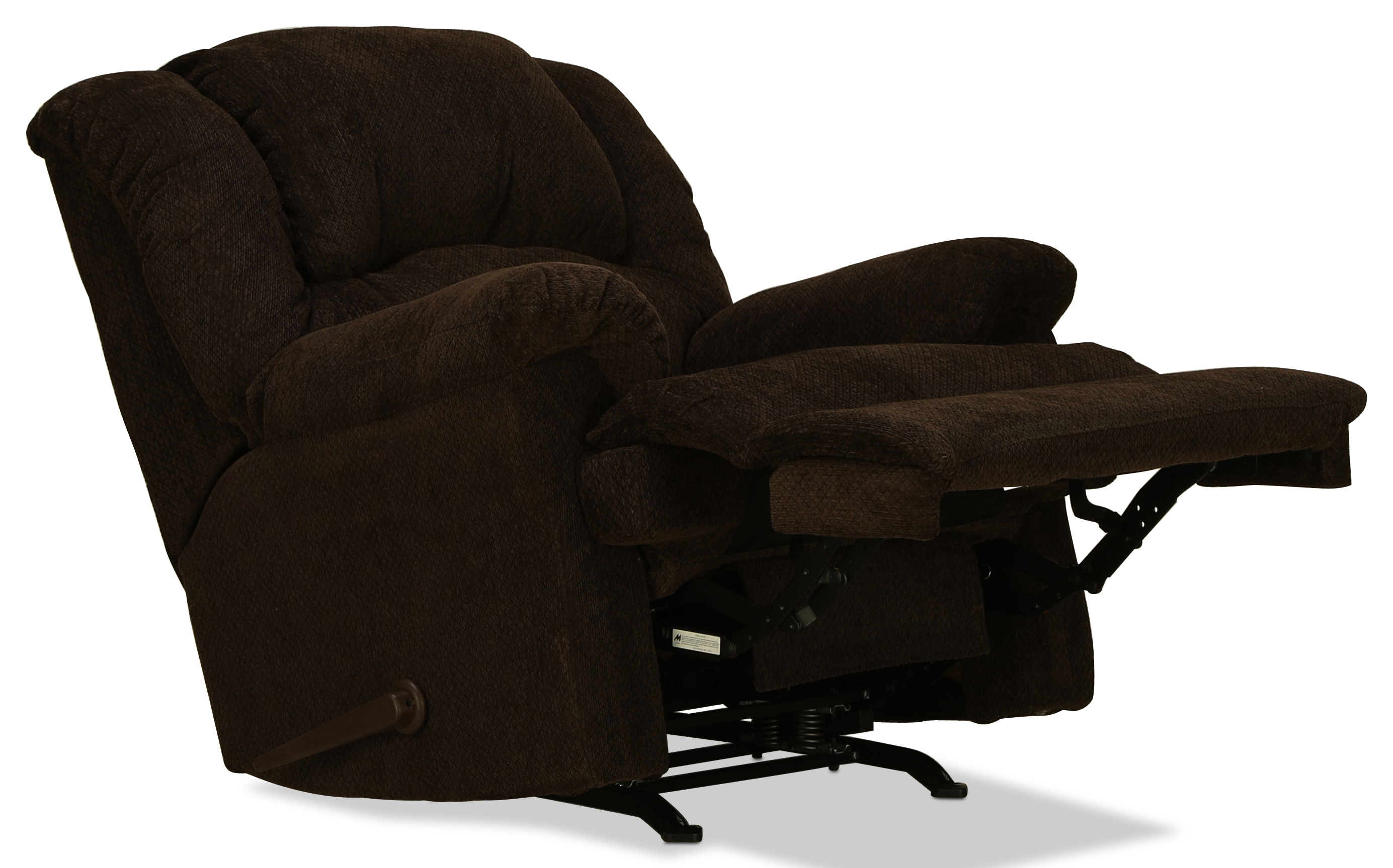 Decker Rocker Recliner – Chocolate | Intended For Decker Ii Fabric Swivel Glider Recliners (Image 7 of 20)