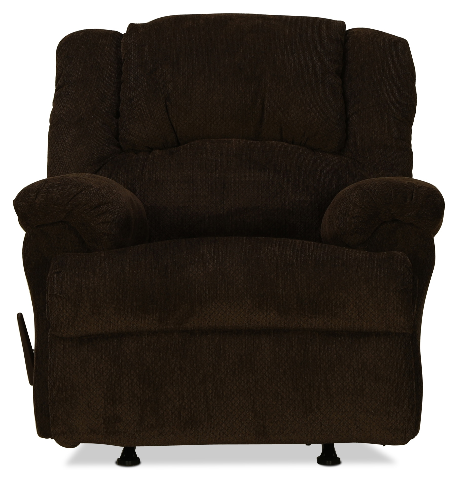 Decker Rocker Recliner – Chocolate | Pertaining To Decker Ii Fabric Swivel Glider Recliners (Image 8 of 20)