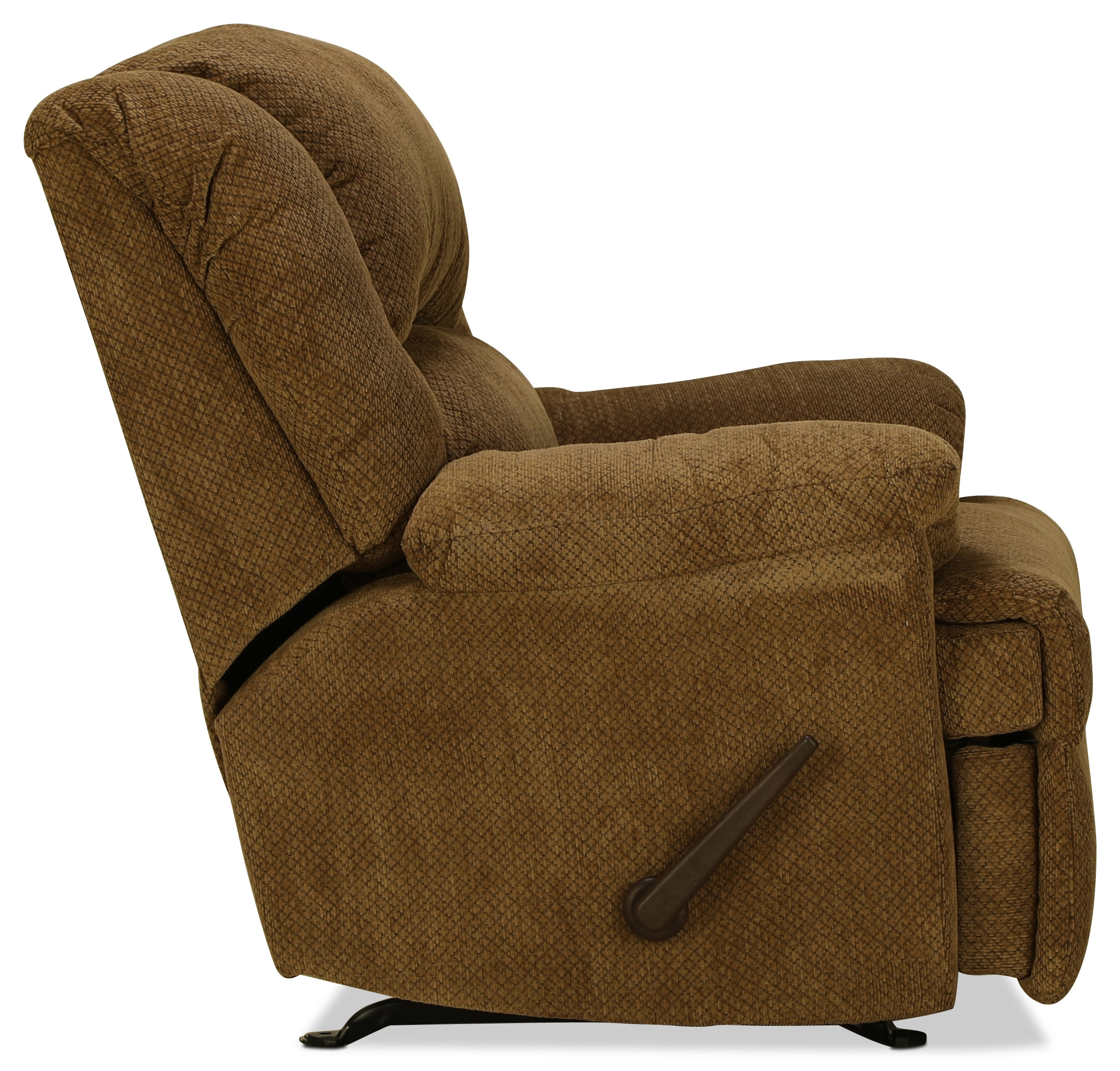 Decker Rocker Recliner – Mocha | For Decker Ii Fabric Swivel Glider Recliners (Image 10 of 20)