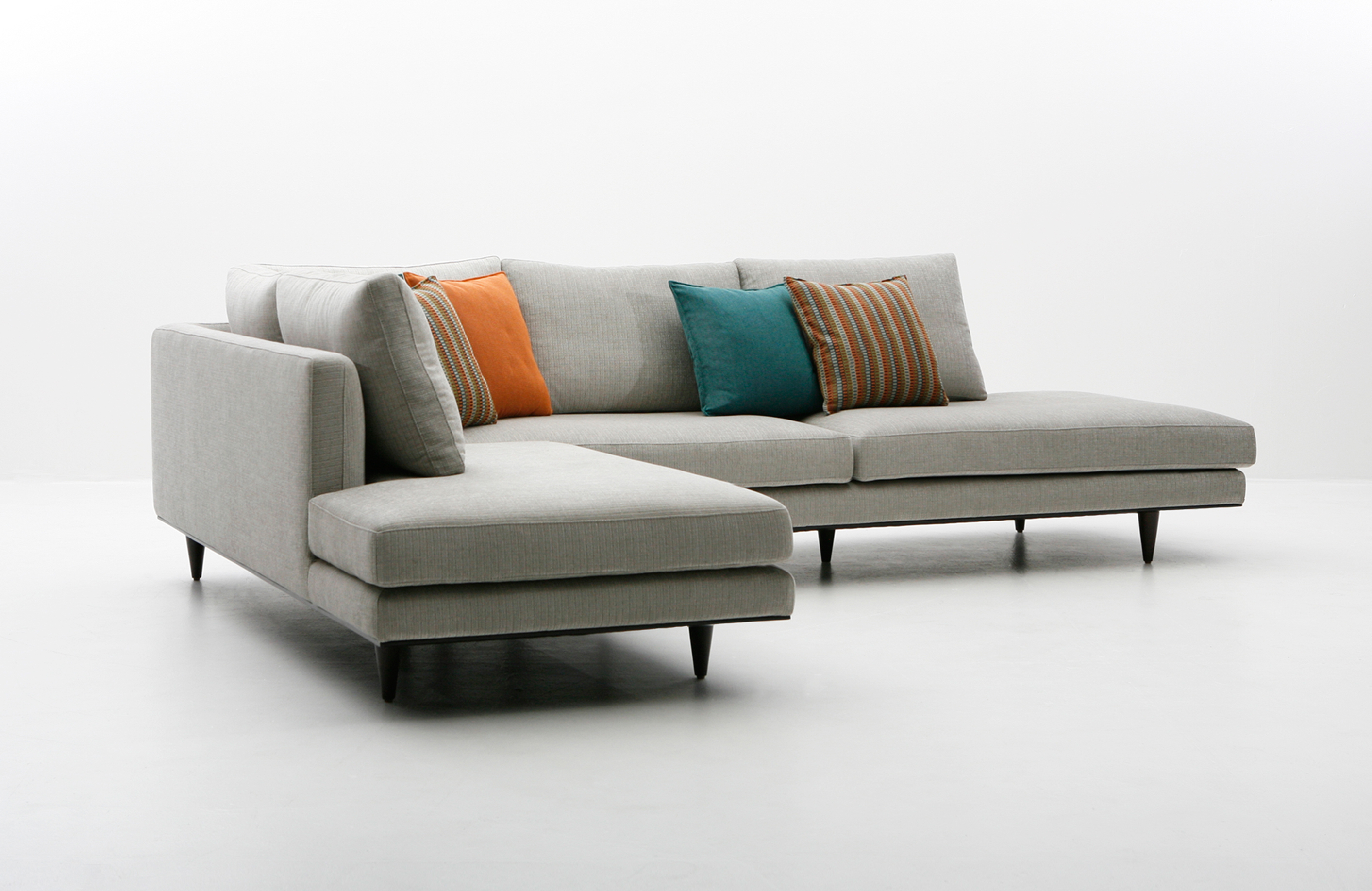 Dellarobbia Milo Sofa, Chair And Sectional | Living Room | Sklar For Milo Sofa Chairs (View 5 of 20)