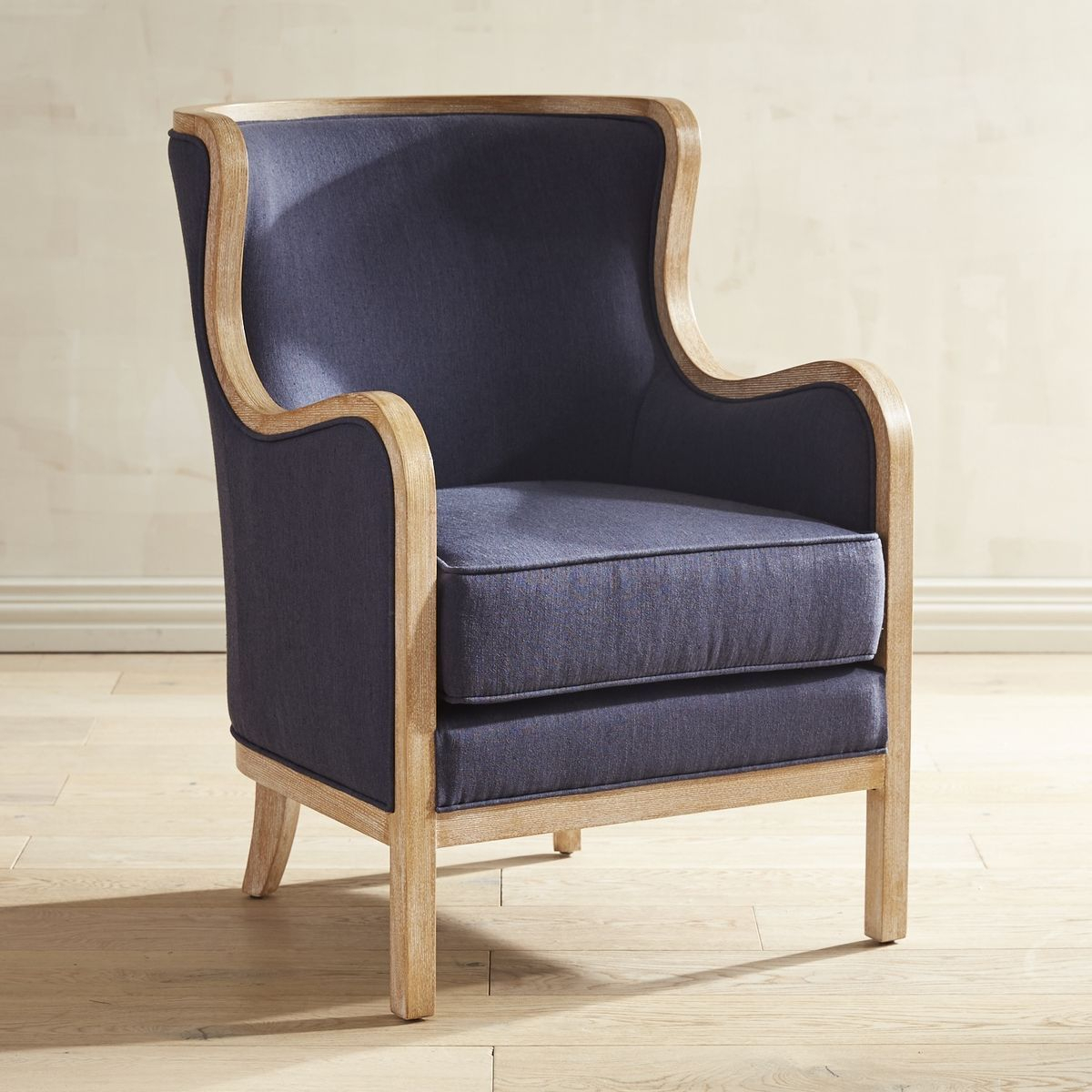 Devon Indigo Blue Chair | New Abode | Pinterest | Indigo Blue, Devon Throughout Devon Ii Swivel Accent Chairs (Photo 1 of 20)