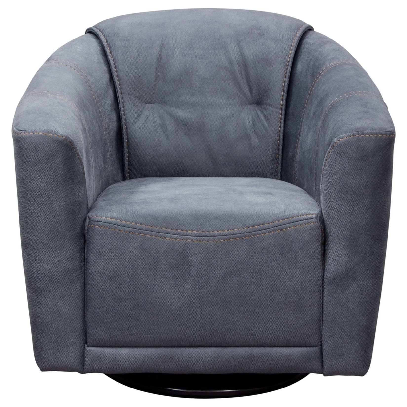 Diamond Sofa Accent Chairs Murphychgr Swivel Accent Chair In Light Intended For Umber Grey Swivel Accent Chairs (Image 9 of 20)