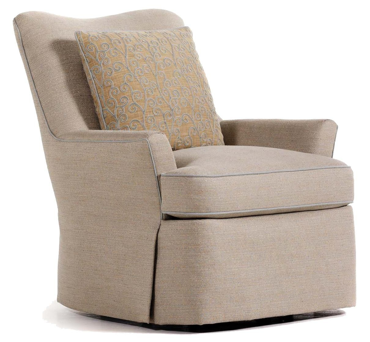 Durban Swivel Rockerjessica Charles | Decorating In 2018 Throughout Katrina Grey Swivel Glider Chairs (Image 6 of 20)